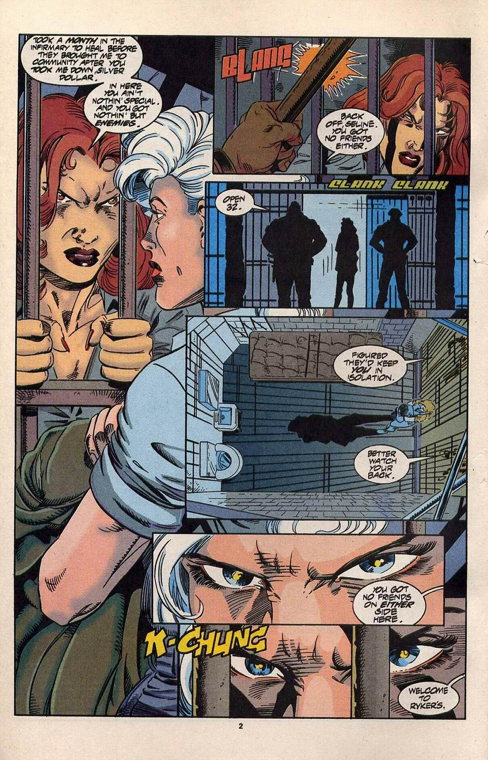 Read online Silver Sable and the Wild Pack comic -  Issue #30 - 3
