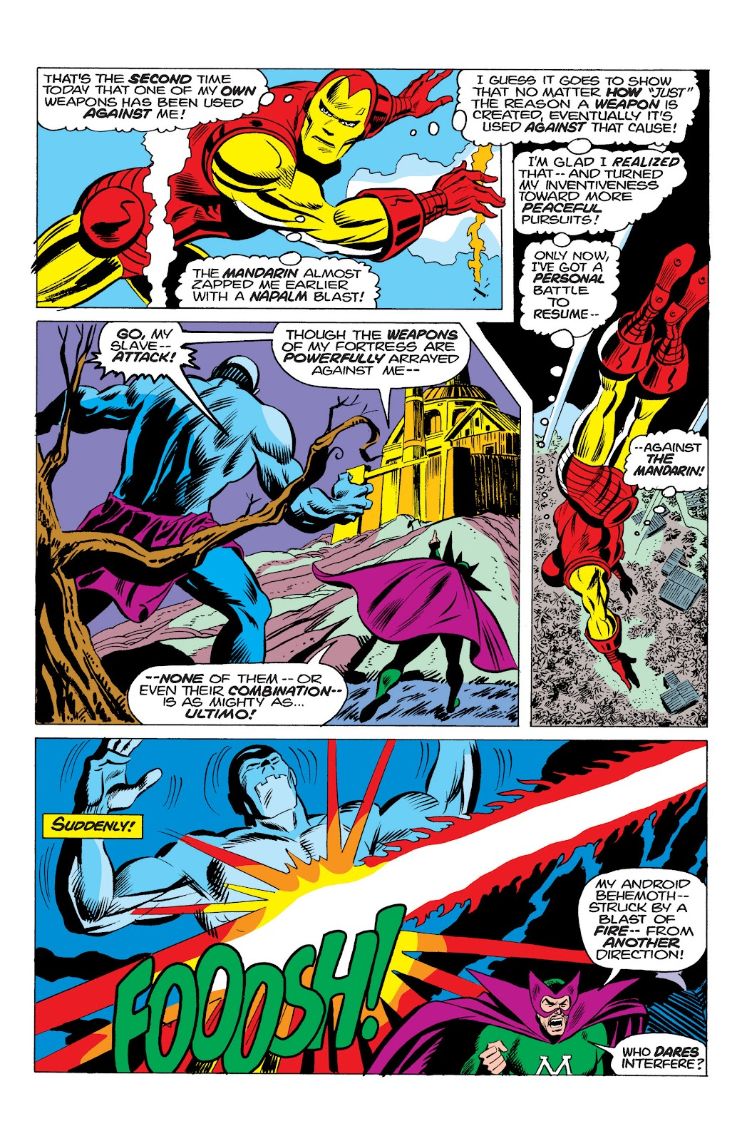 Read online Marvel Masterworks: The Invincible Iron Man comic -  Issue # TPB 10 (Part 1) - 49