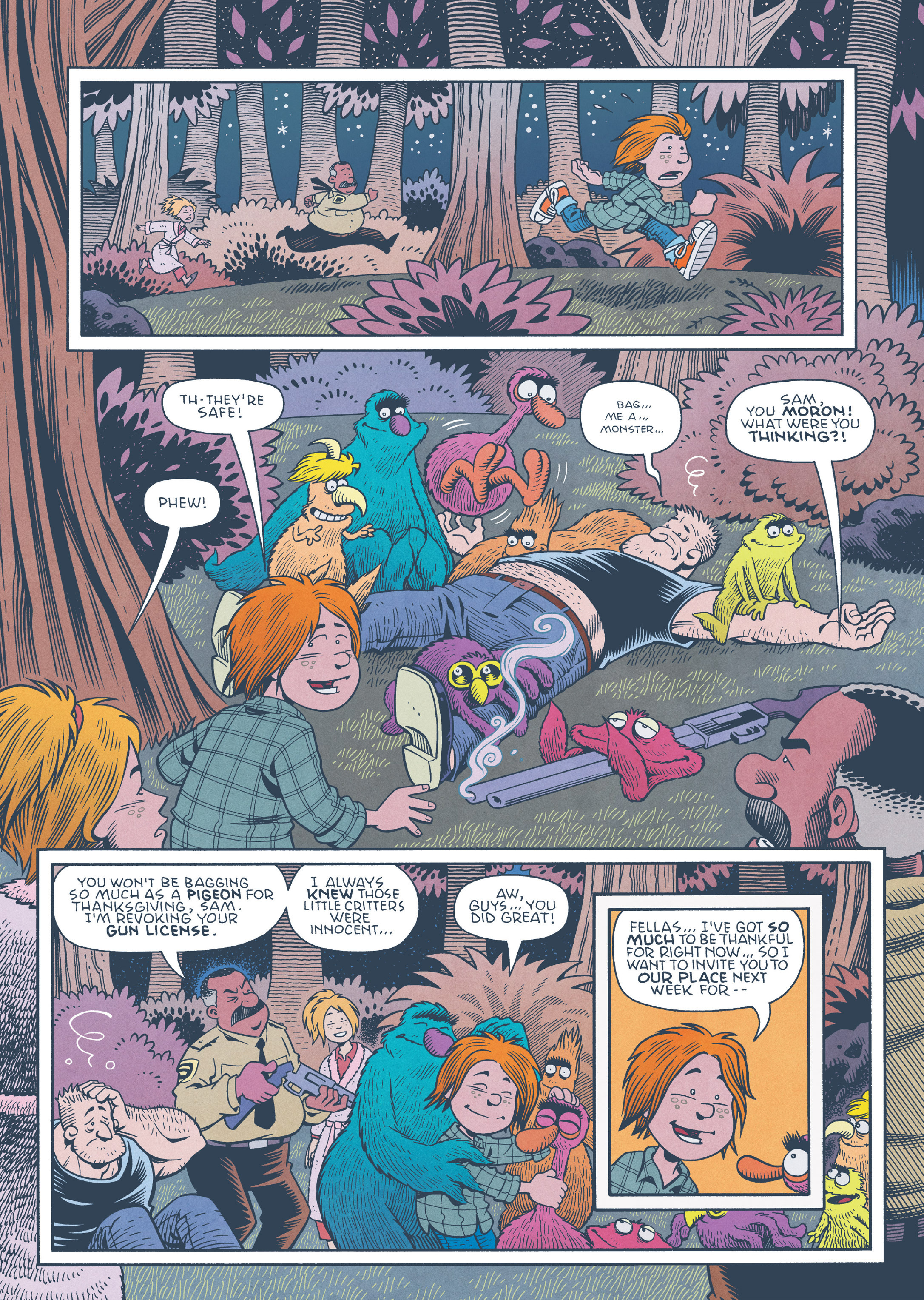 Read online Jim Henson's The Musical Monsters of Turkey Hollow comic -  Issue # Full - 76