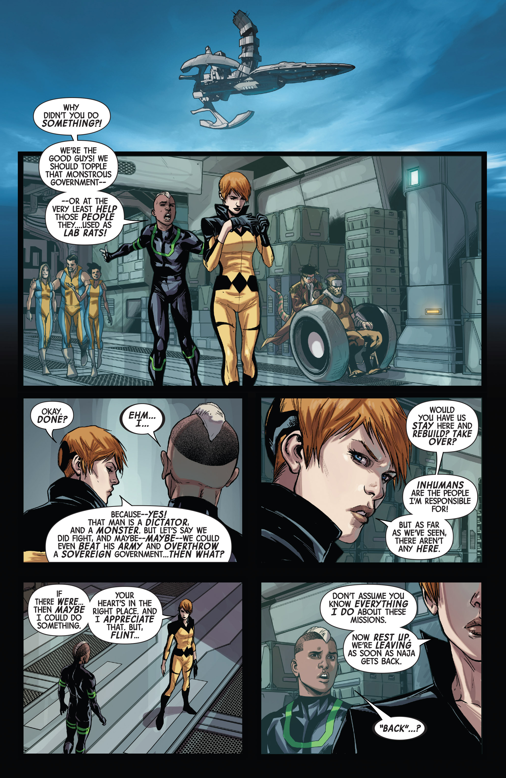 Read online All-New Inhumans comic -  Issue #2 - 16