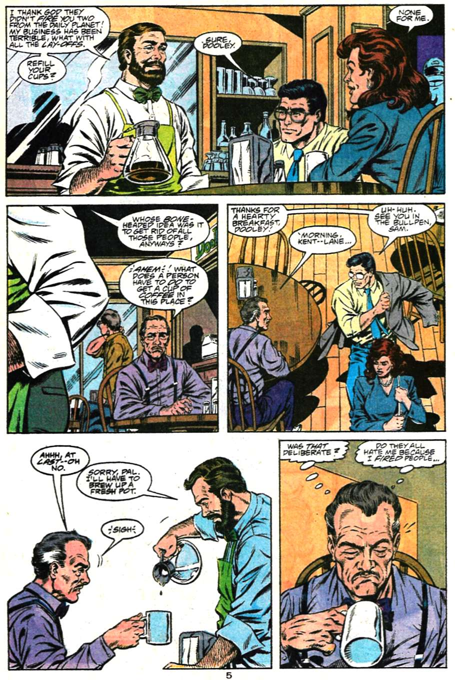 Read online Adventures of Superman (1987) comic -  Issue #481 - 6