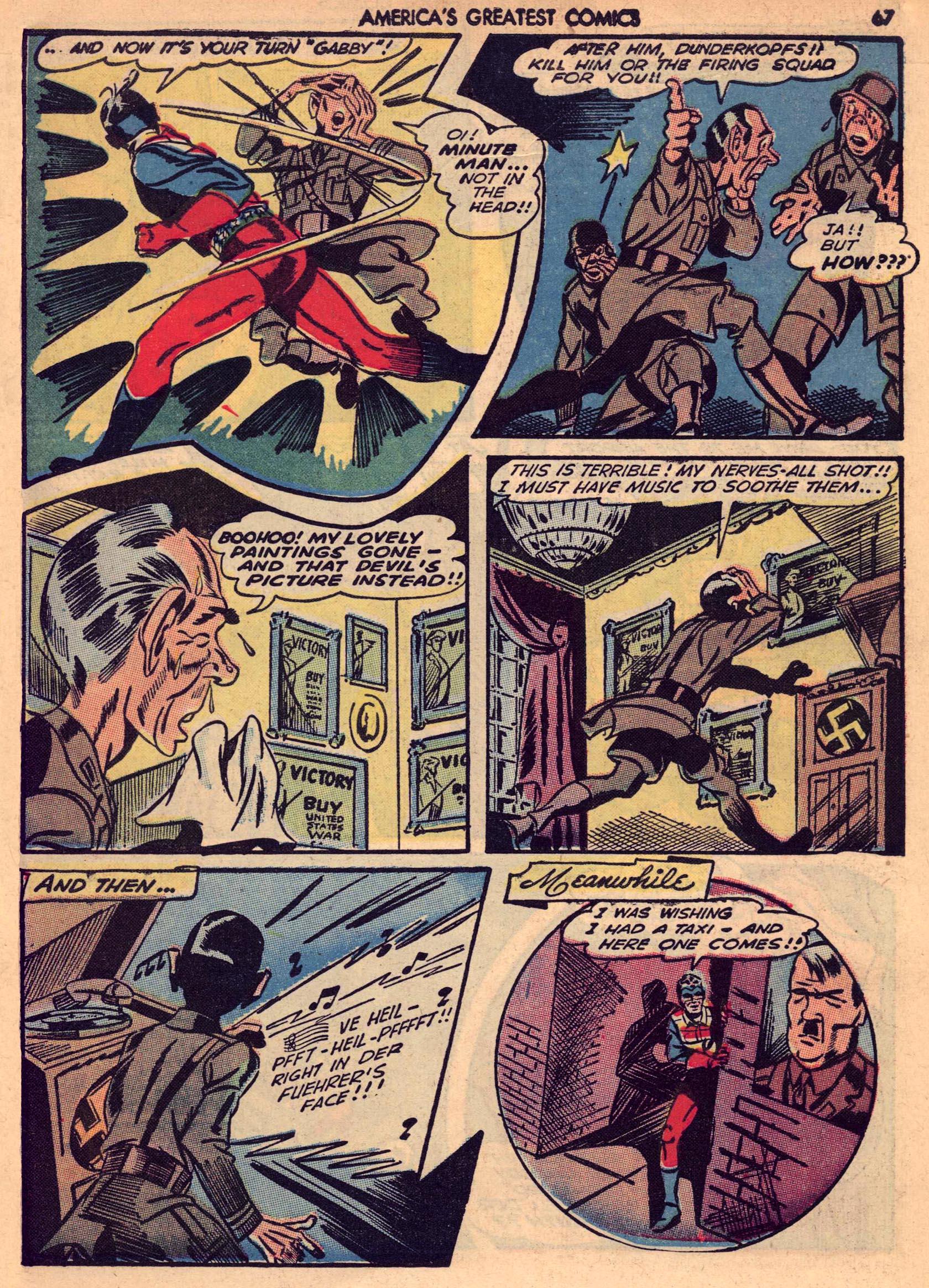 Read online America's Greatest Comics comic -  Issue #7 - 66