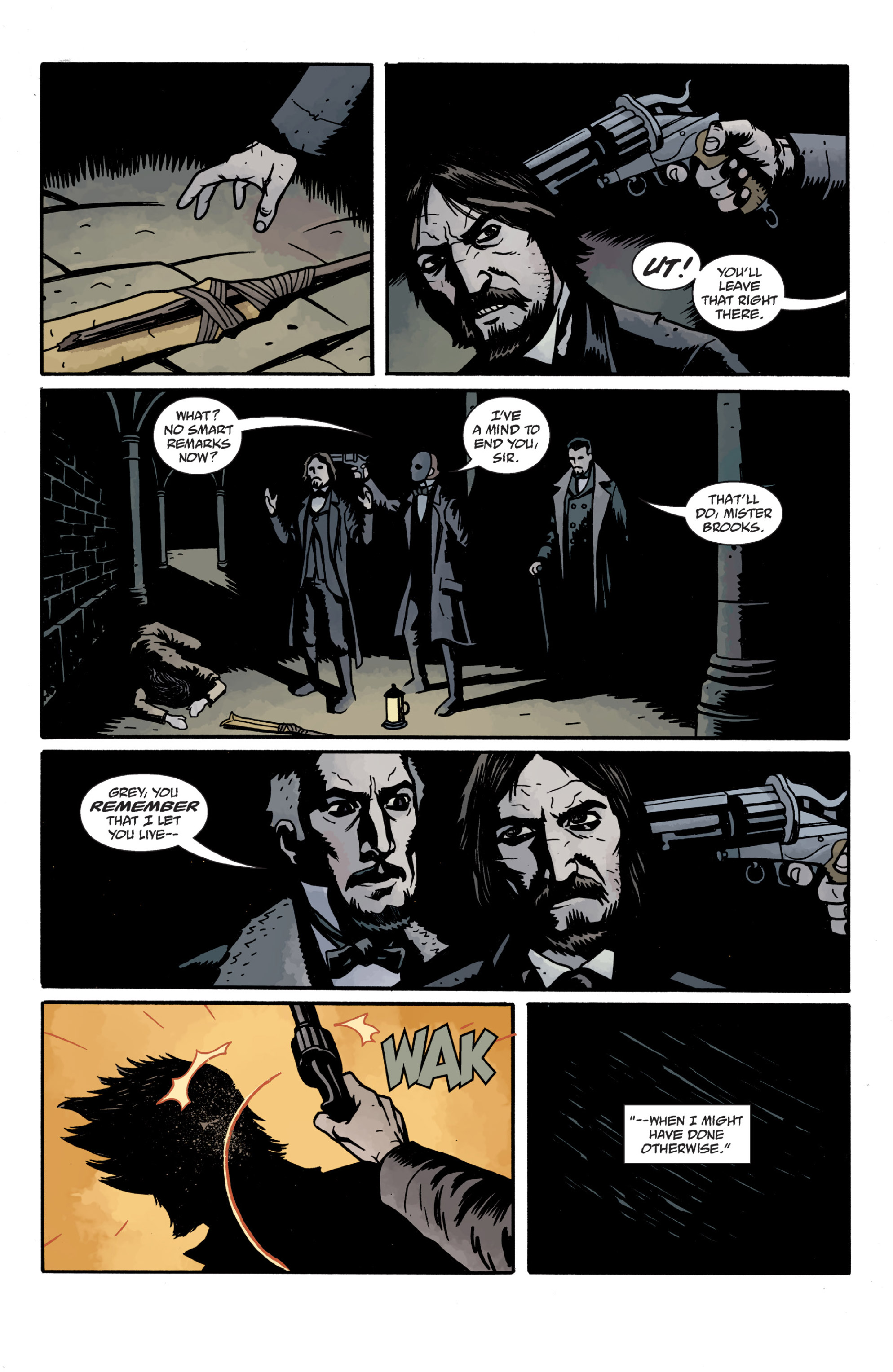 Read online Sir Edward Grey, Witchfinder: In the Service of Angels comic -  Issue # TPB - 117