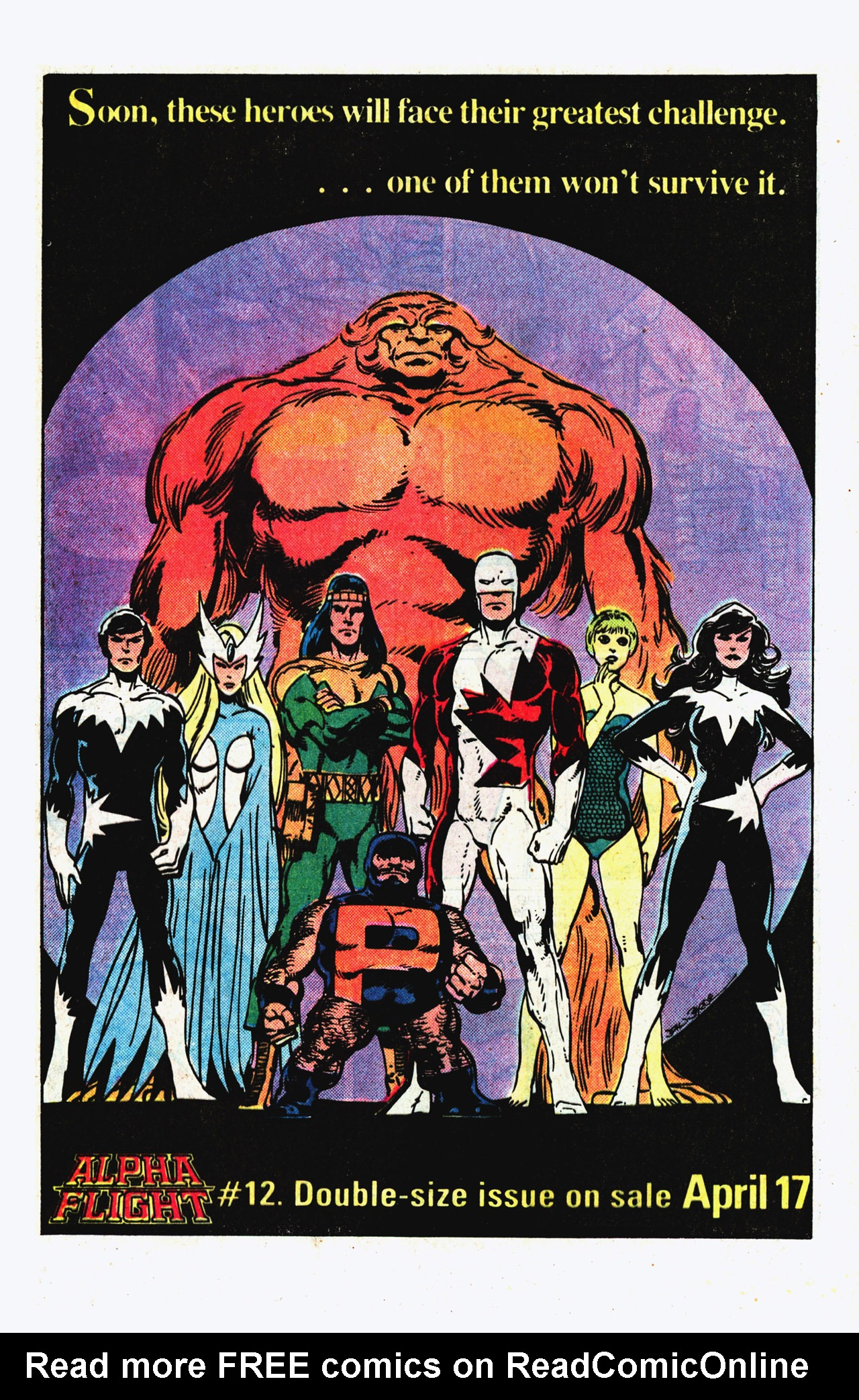 Read online Alpha Flight (1983) comic -  Issue #11 - 25