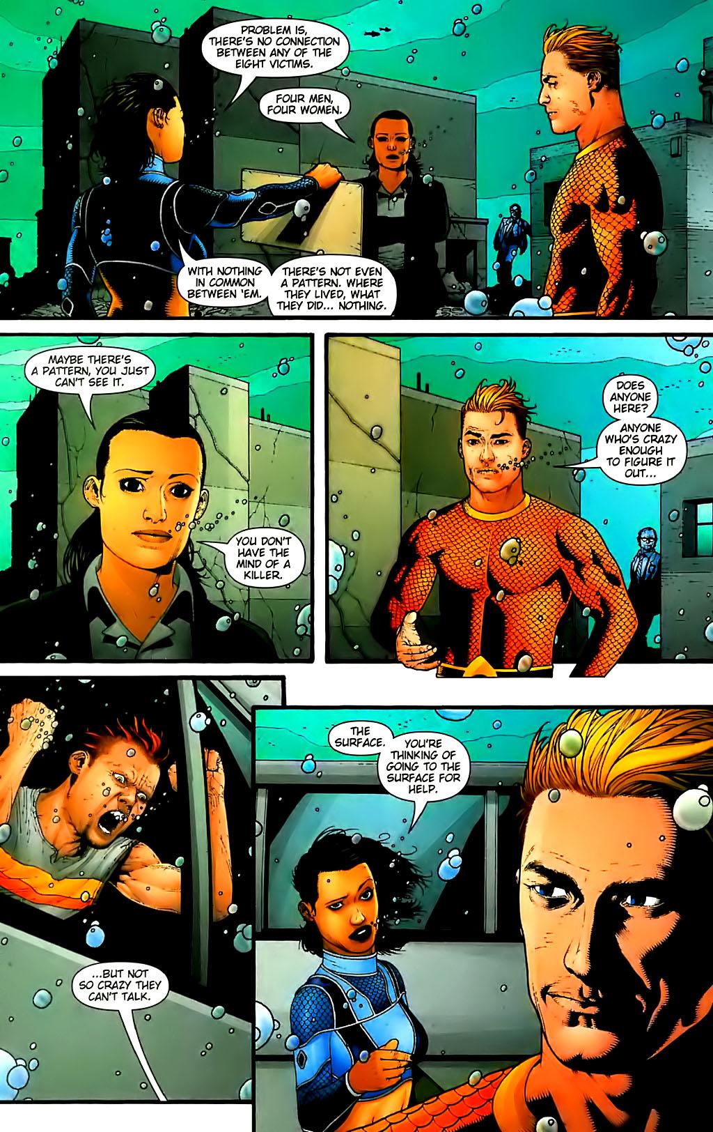 Read online Aquaman (2003) comic -  Issue #30 - 20