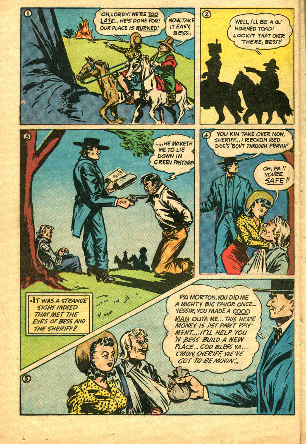 Read online Shadow Comics comic -  Issue #78 - 38