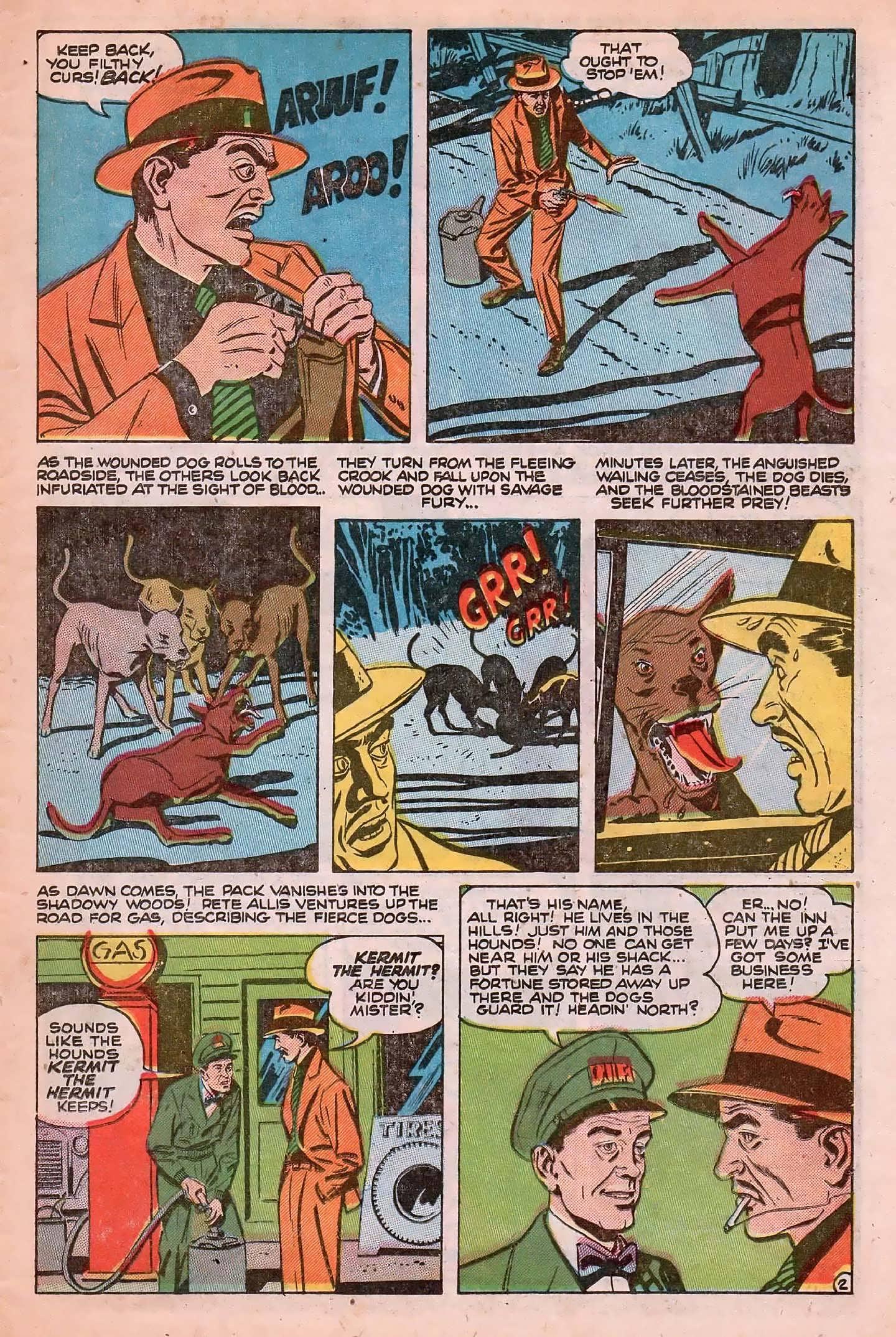 Read online Adventures into Weird Worlds comic -  Issue #20 - 11