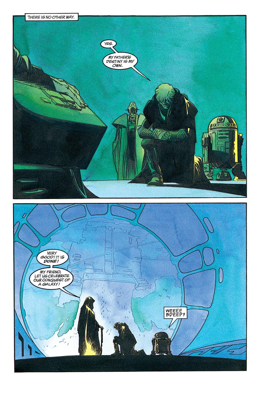 Read online Star Wars: Dark Empire Trilogy comic -  Issue # TPB (Part 1) - 52