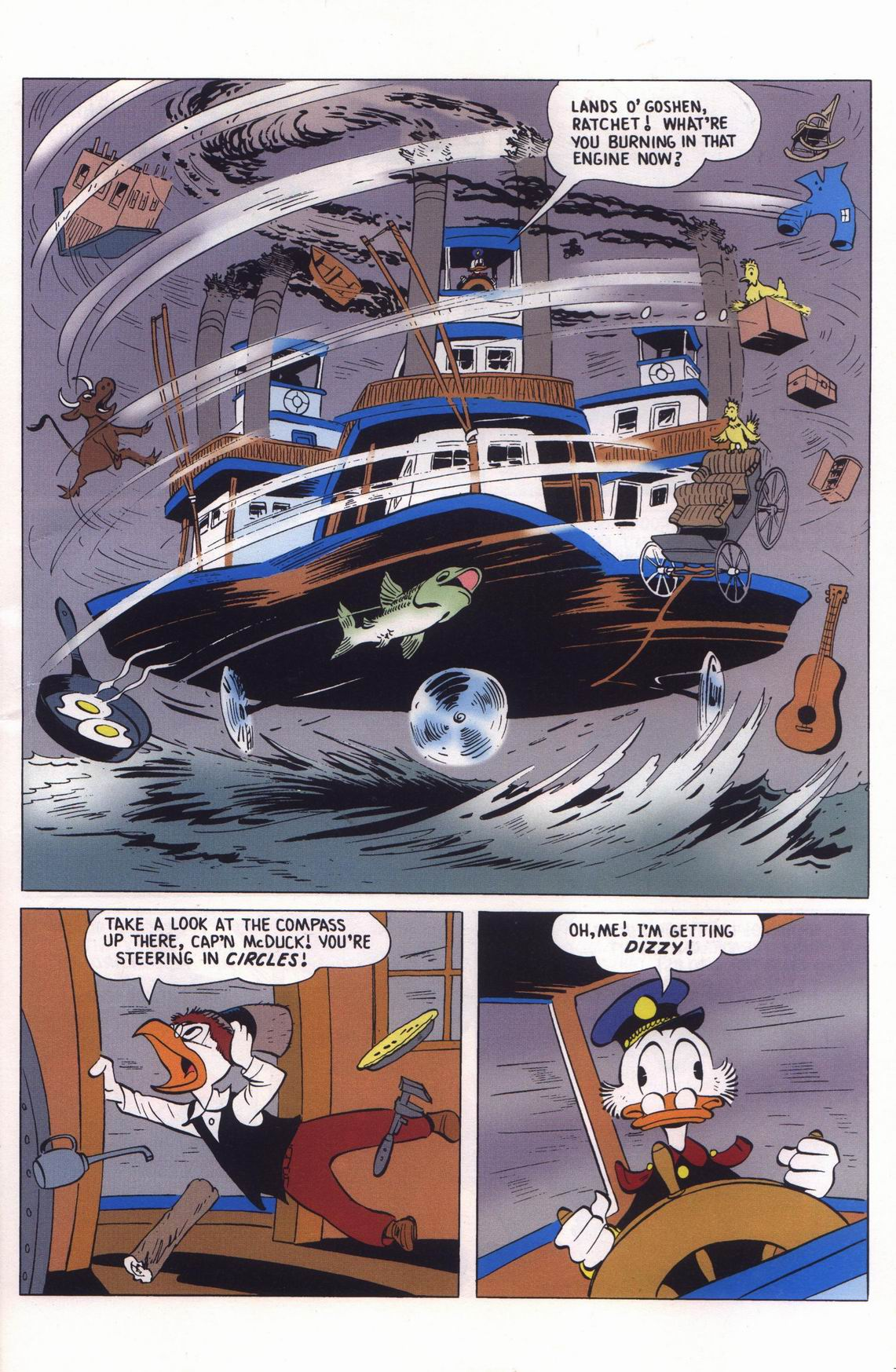Read online Uncle Scrooge (1953) comic -  Issue #313 - 63
