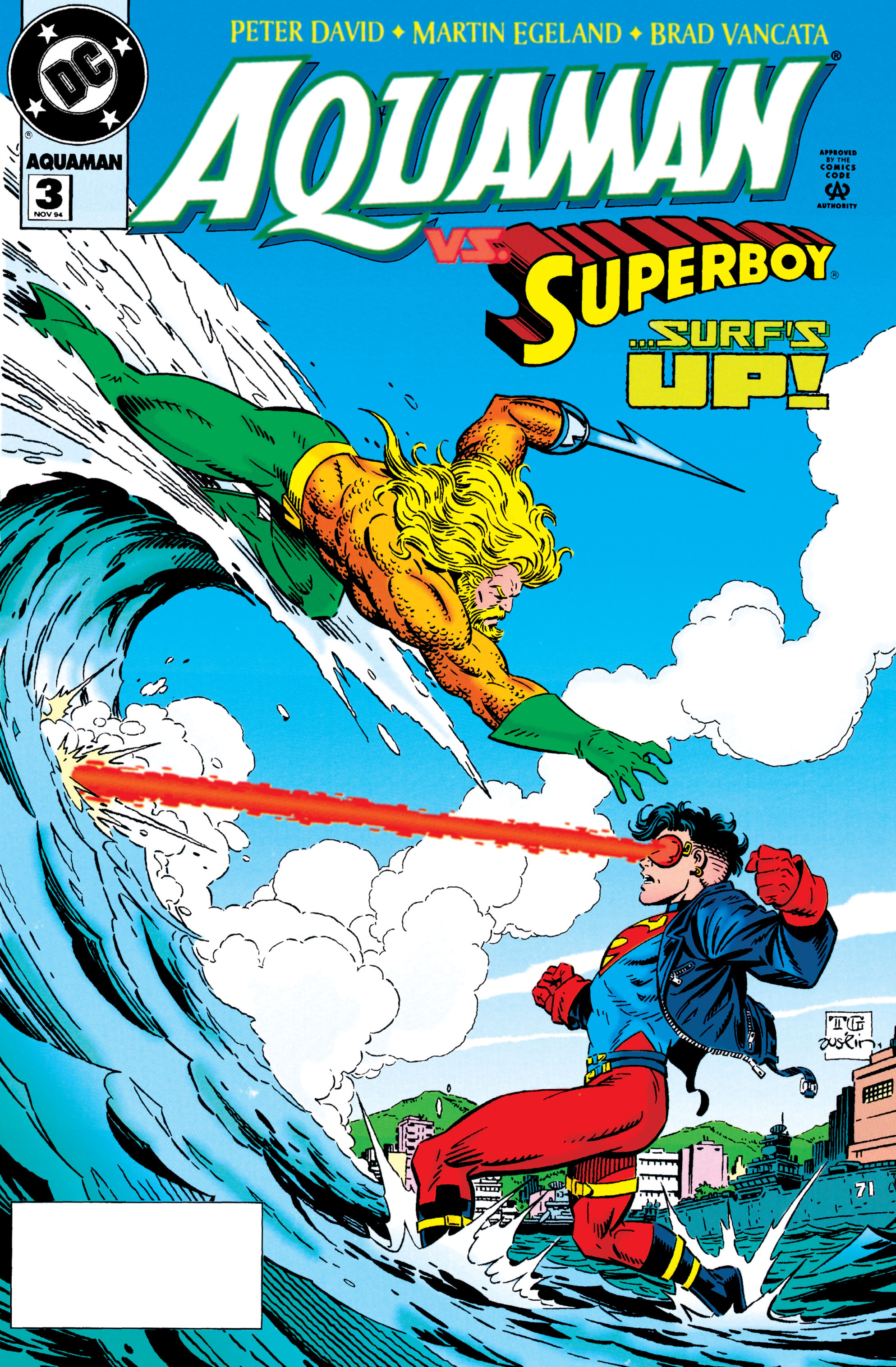 Aquaman (1994) 3 Page 1