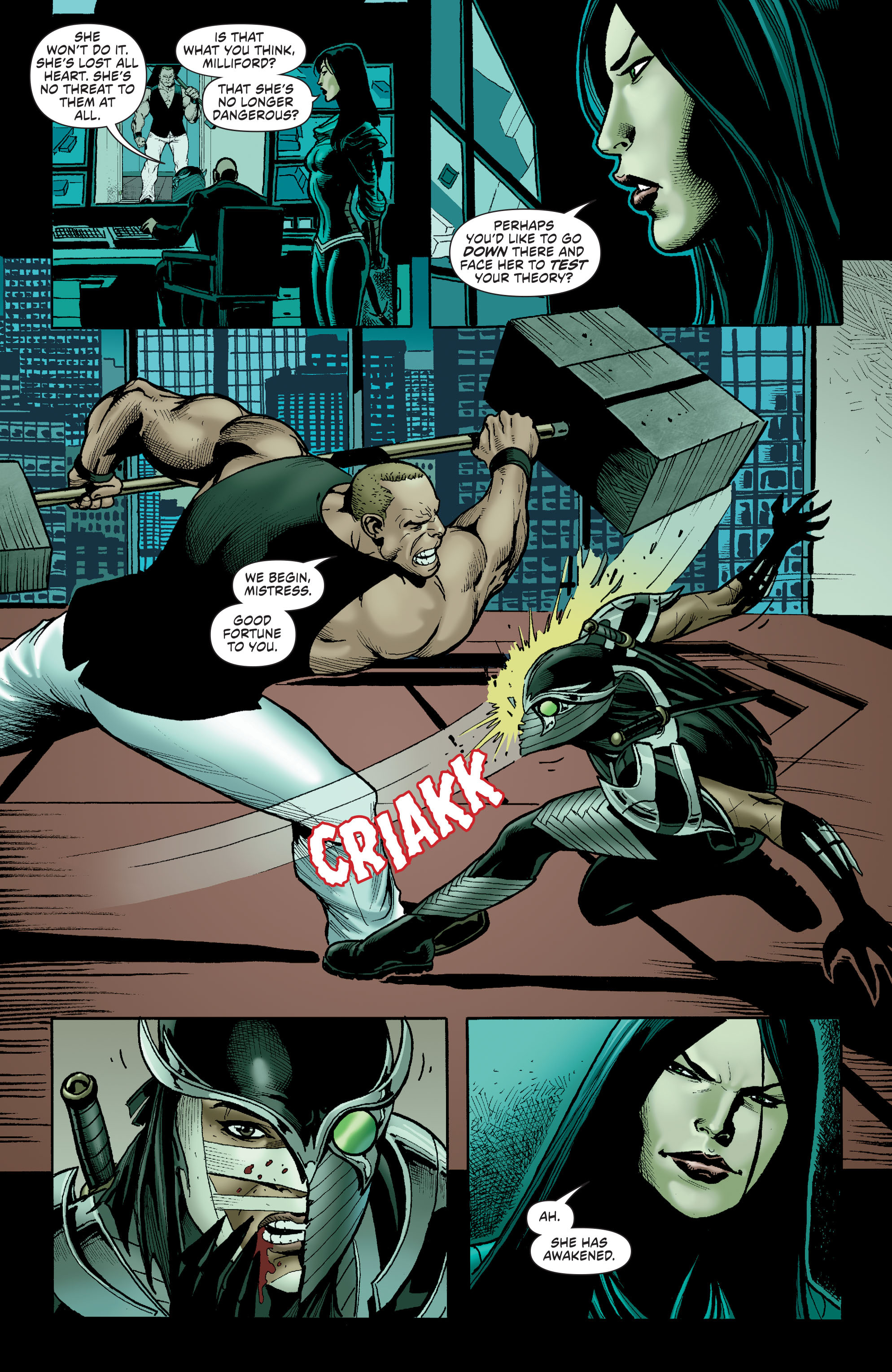 Read online Secret Six (2015) comic -  Issue #13 - 15