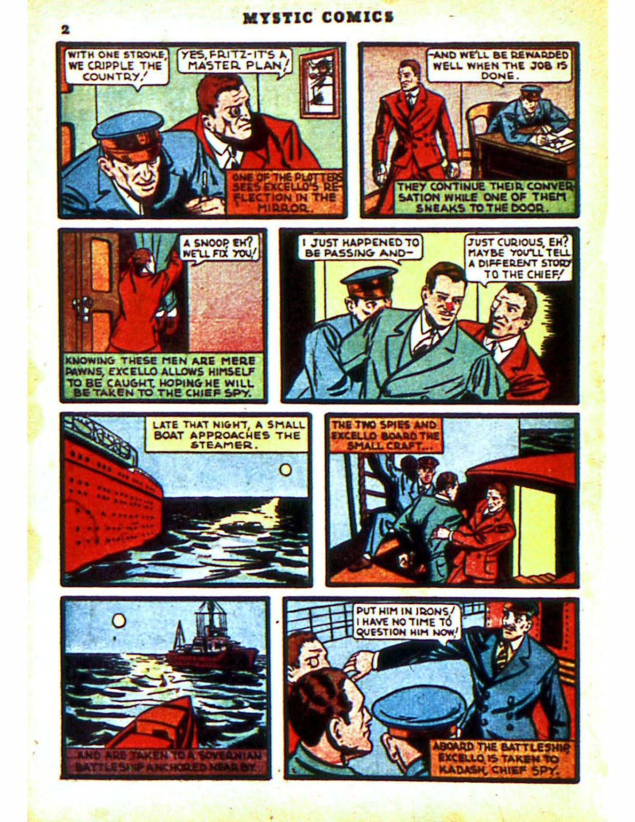 Mystic Comics (1940) issue 2 - Page 4
