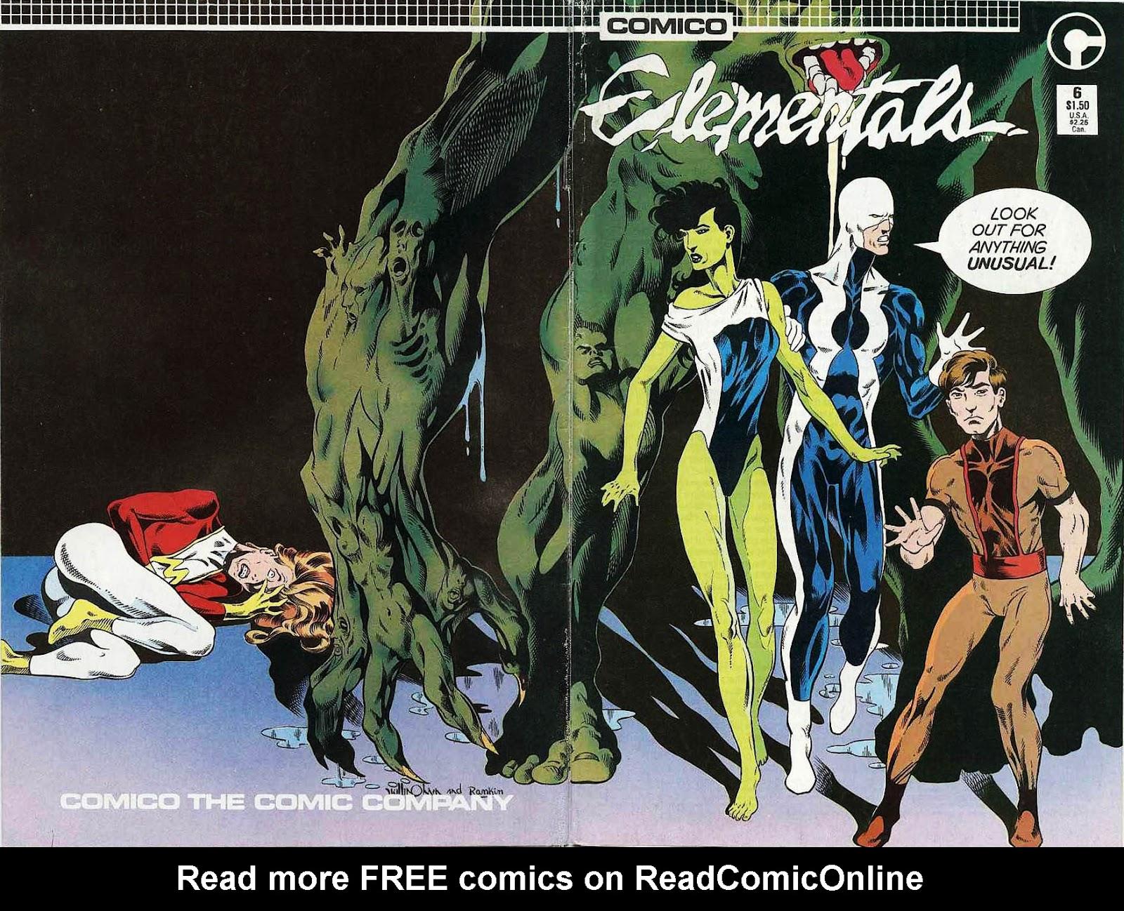 Elementals (1984) issue 6 - Page 1
