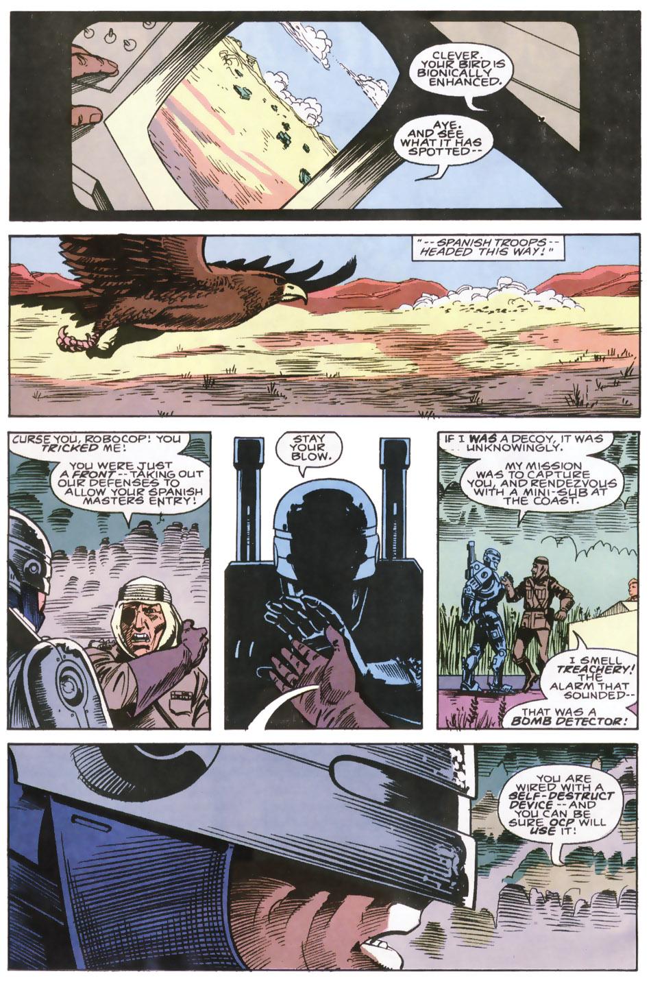 Read online Robocop (1990) comic -  Issue #6 - 8