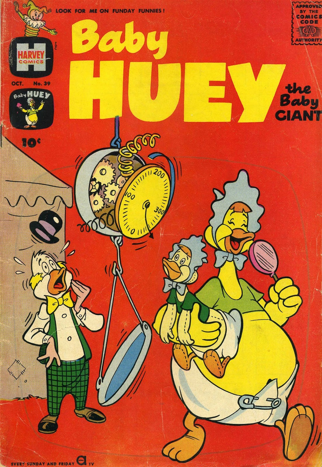 Baby Huey, the Baby Giant 39 Page 1