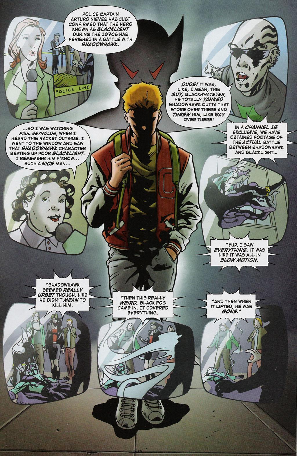 Read online ShadowHawk (2005) comic -  Issue #2 - 3