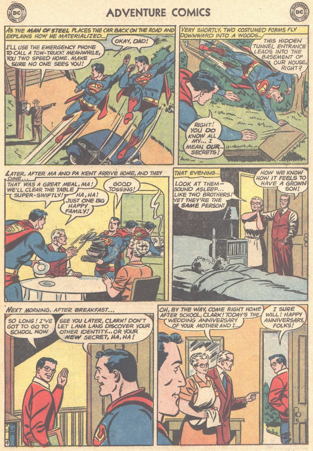 Read online Adventure Comics (1938) comic -  Issue #304 - 6