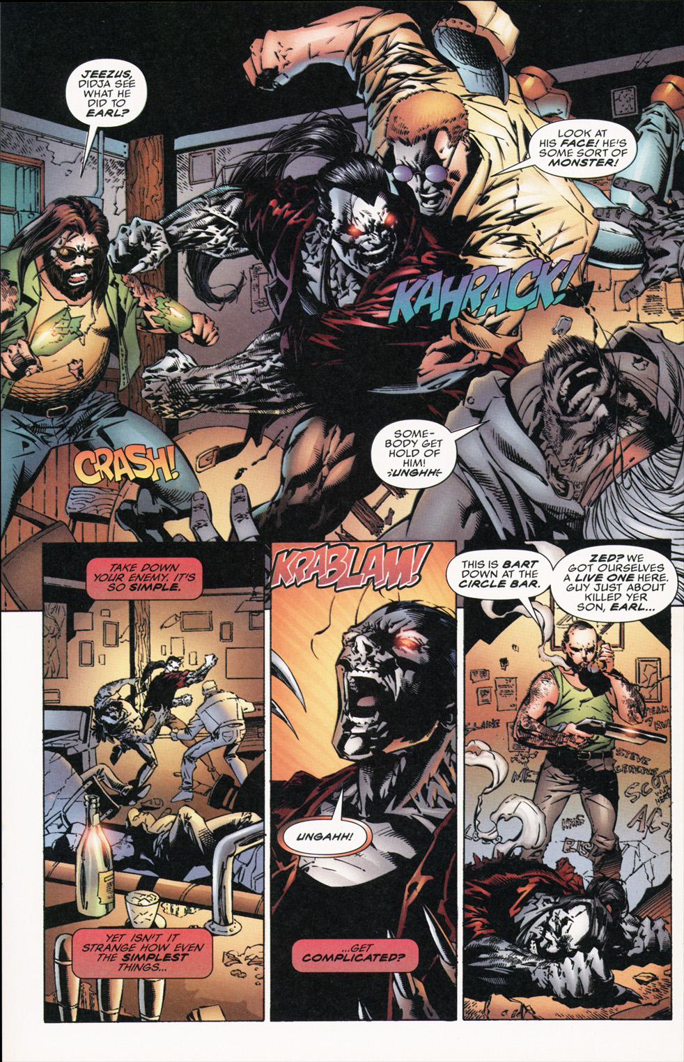 Cyberforce (1993) Issue #16 #16 - English 24