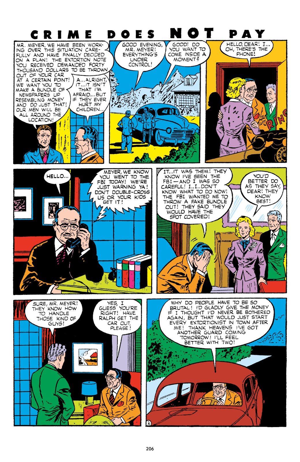 Read online Crime Does Not Pay Archives comic -  Issue # TPB 5 (Part 3) - 6