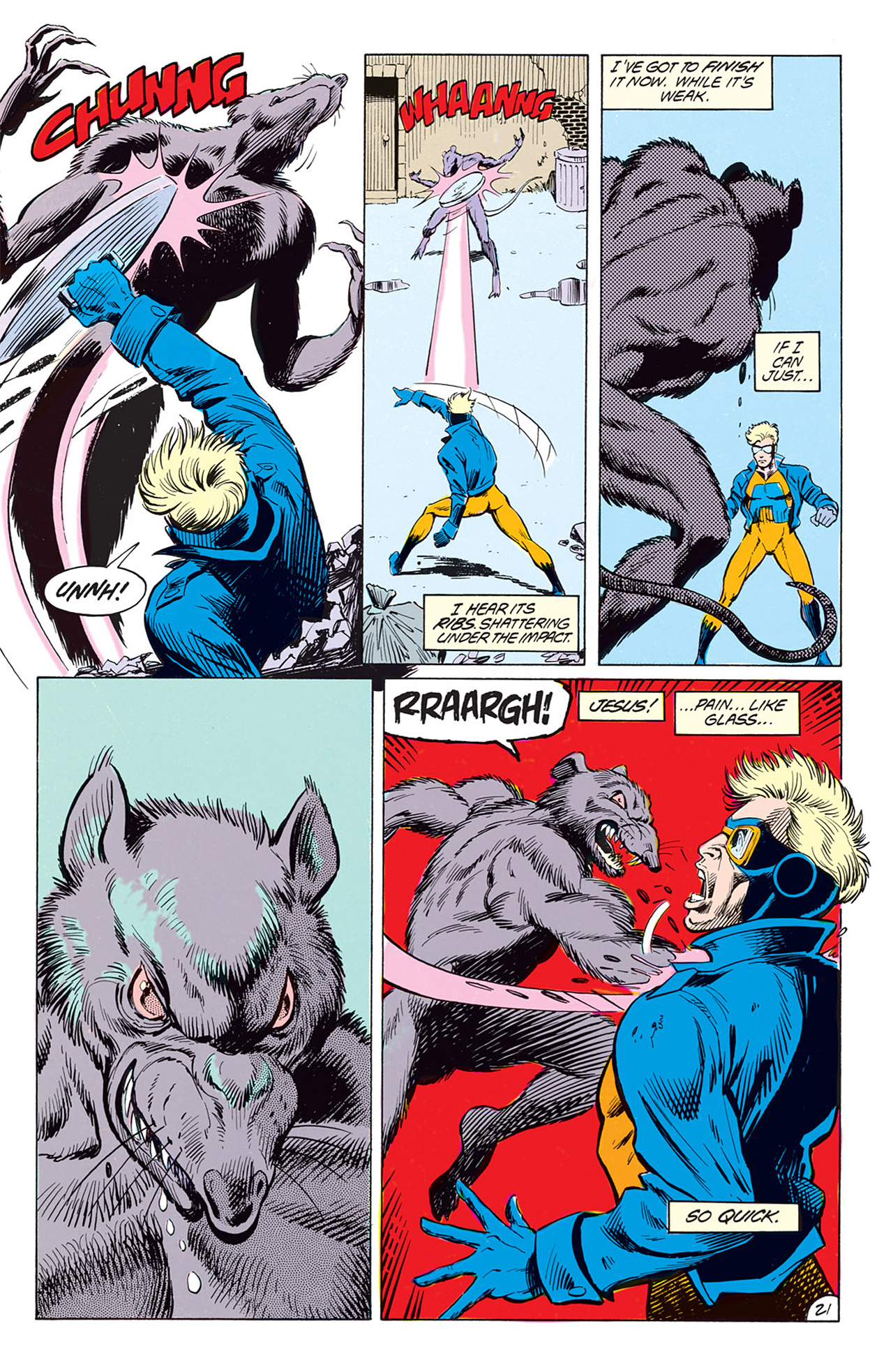 Read online Animal Man (1988) comic -  Issue #2 - 23