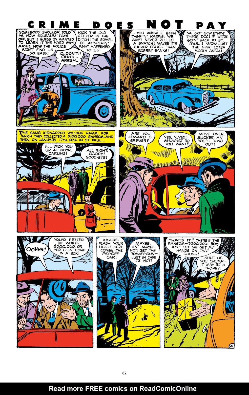 Read online Crime Does Not Pay Archives comic -  Issue # TPB 10 (Part 1) - 84