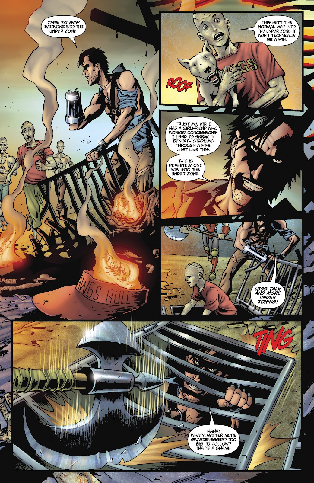 Army of Darkness: The Long Road Home issue TPB - Page 68