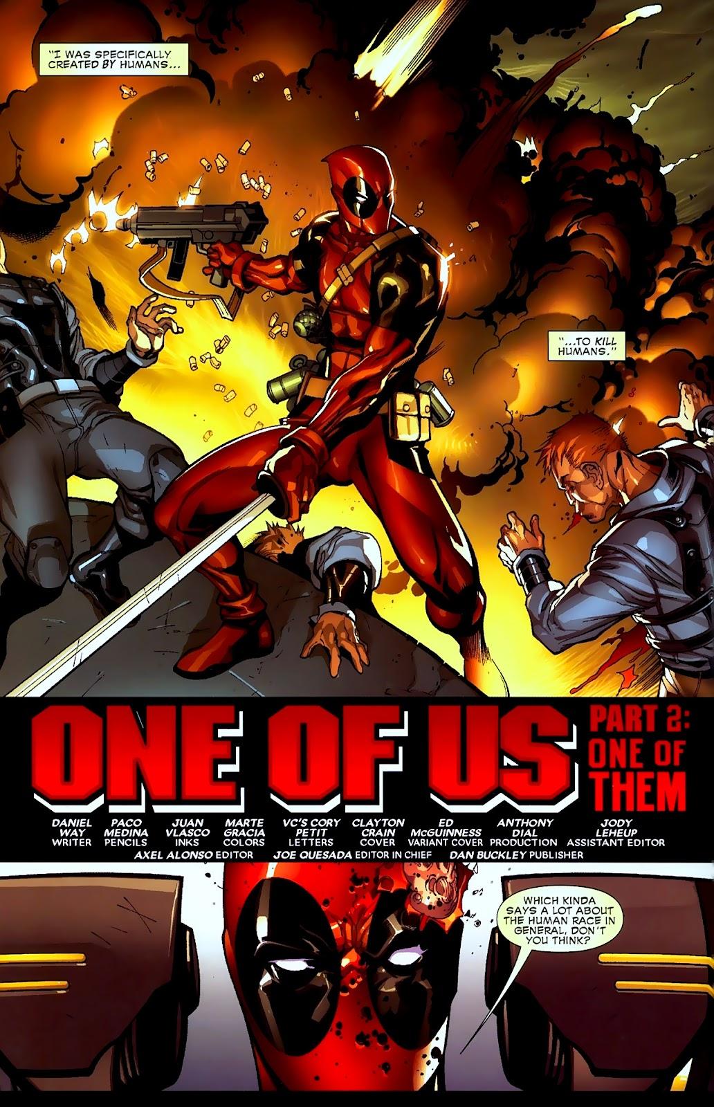 Read online Deadpool (2008) comic -  Issue #2 - 3