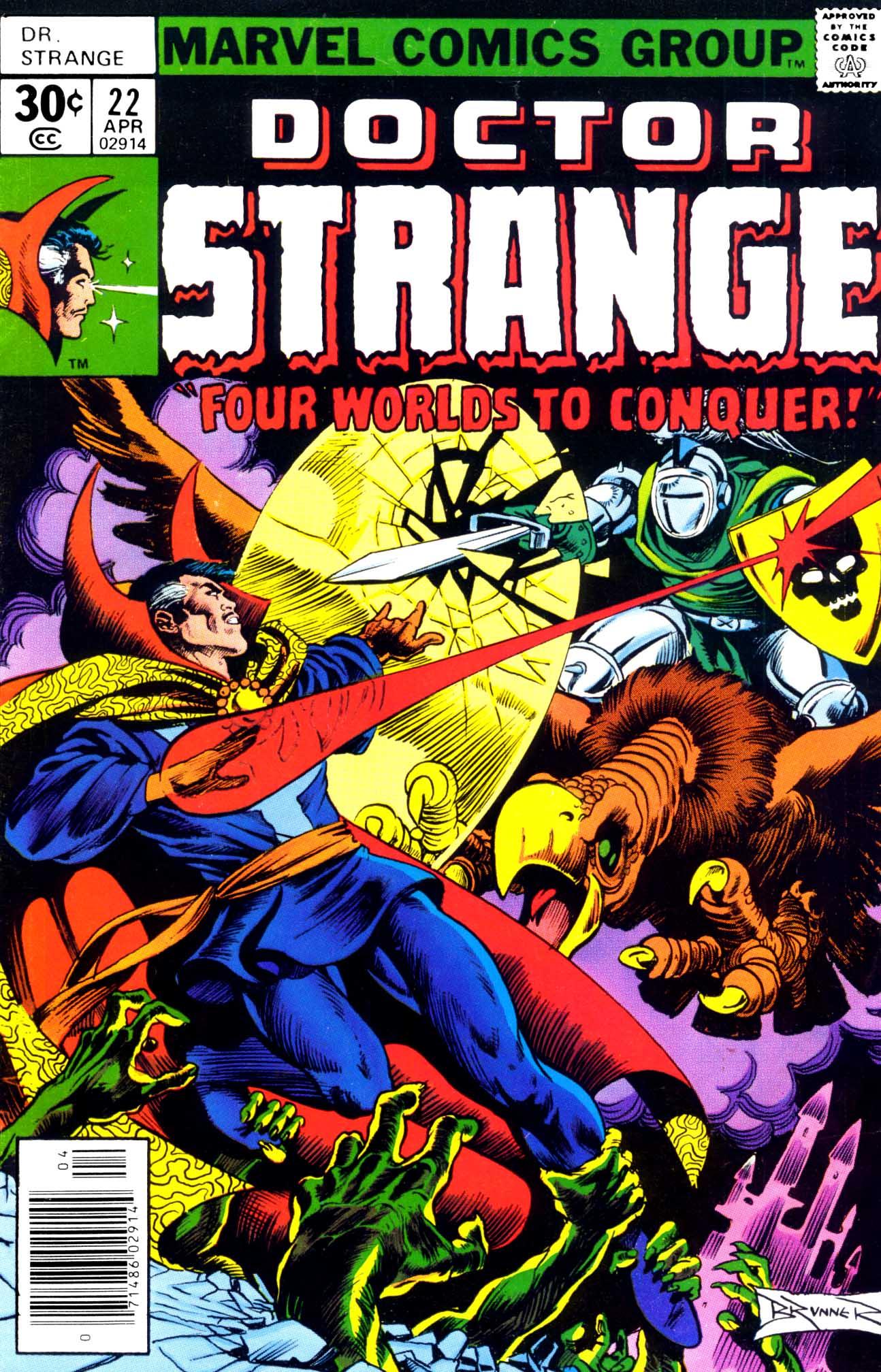 Doctor Strange (1974) 22 Page 1