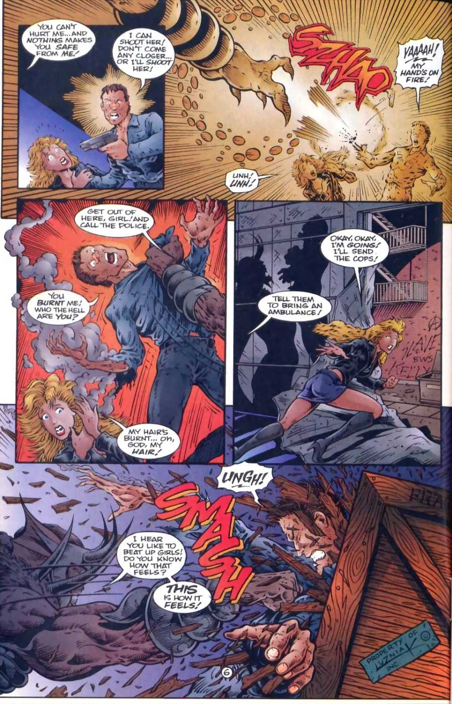 Read online Ultraverse Premiere comic -  Issue #1 - 26