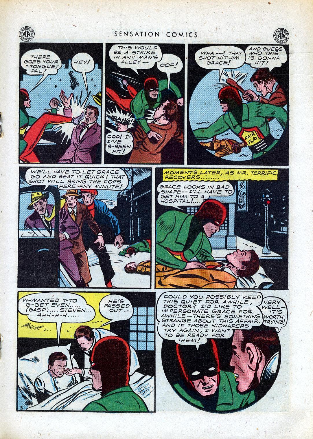 Read online Sensation (Mystery) Comics comic -  Issue #41 - 27