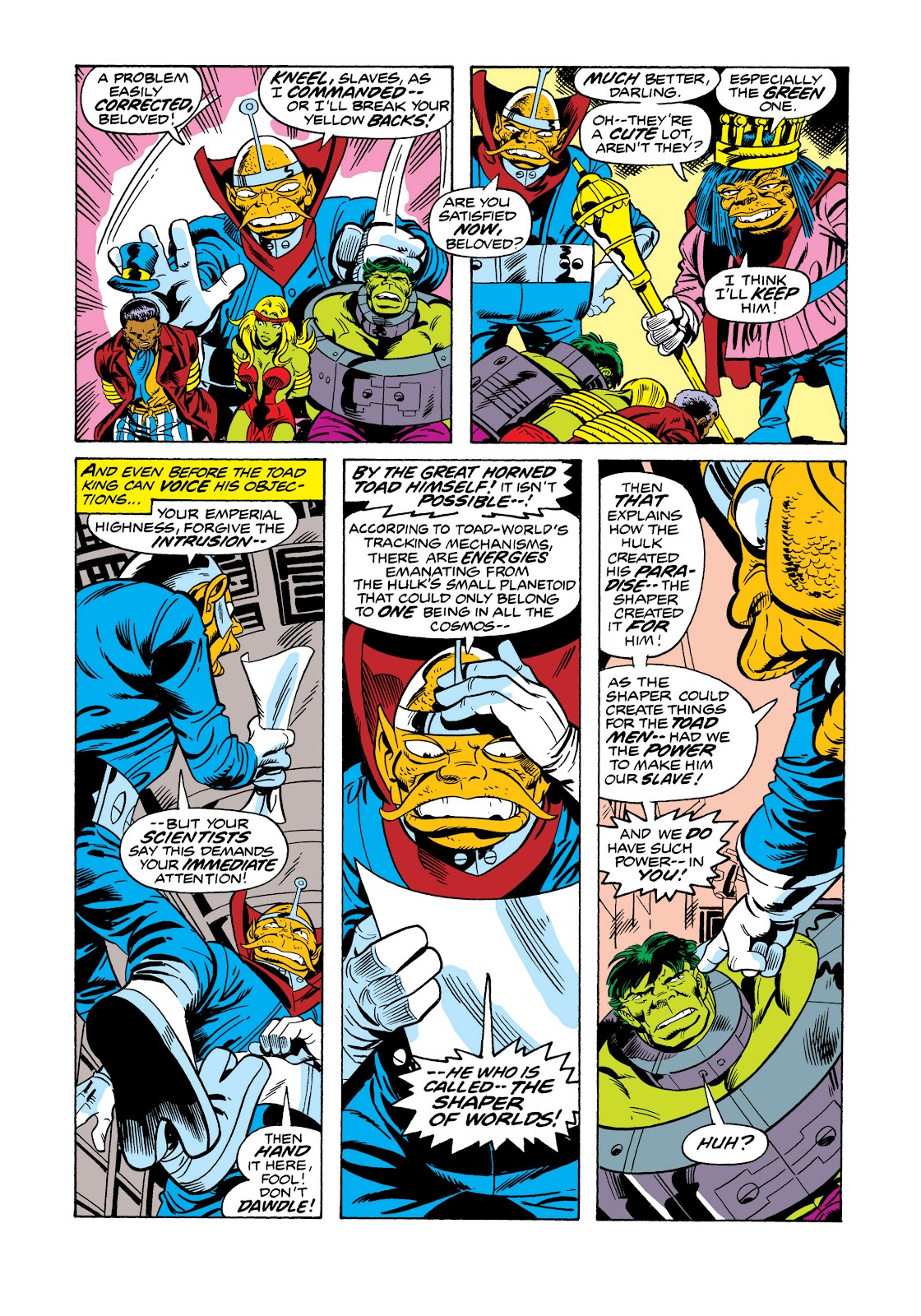 Read online Marvel Masterworks: The Incredible Hulk comic -  Issue # TPB 11 (Part 2) - 43