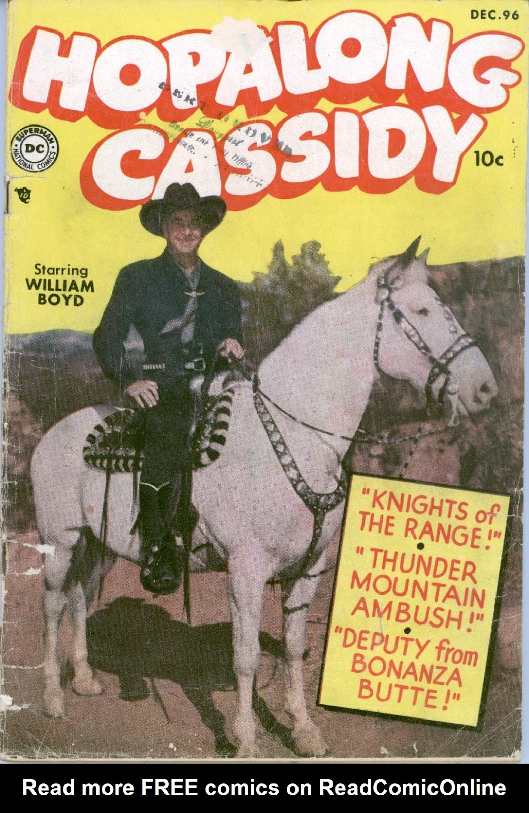 Hopalong Cassidy issue 96 - Page 1