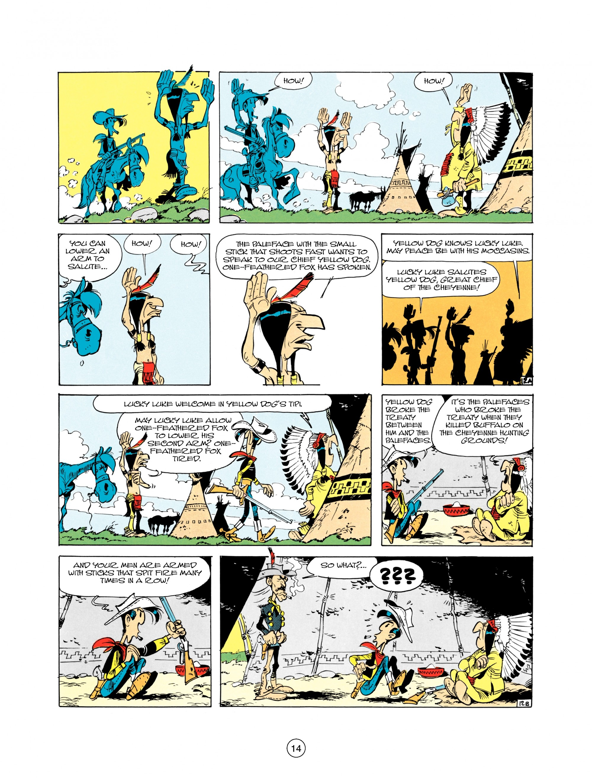 Read online A Lucky Luke Adventure comic -  Issue #21 - 14