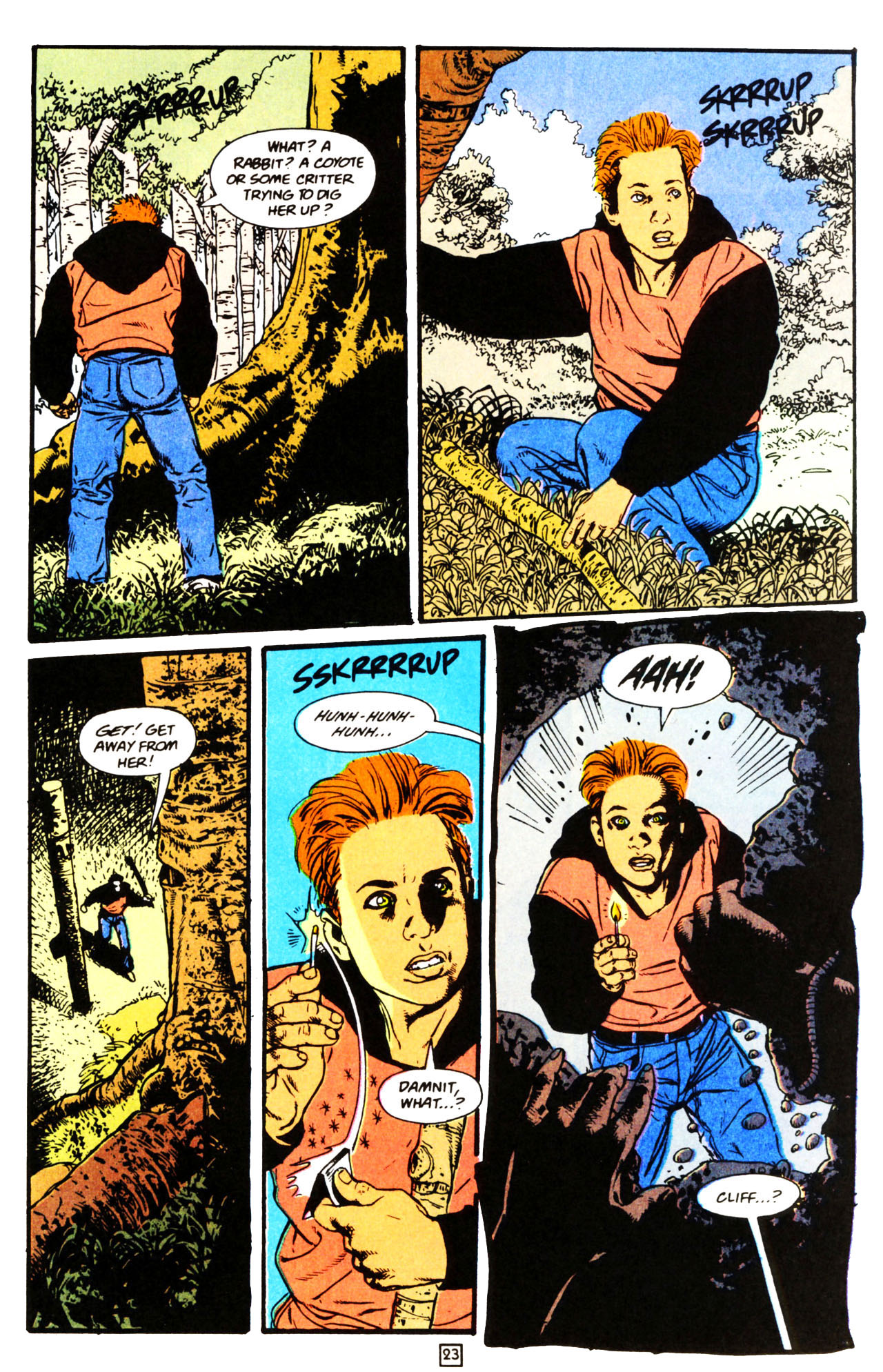 Read online Animal Man (1988) comic -  Issue #70 - 23