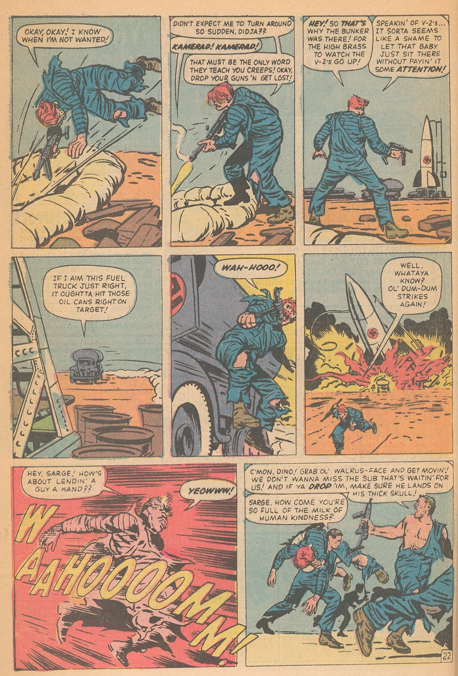 Read online Sgt. Fury comic -  Issue #95 - 32