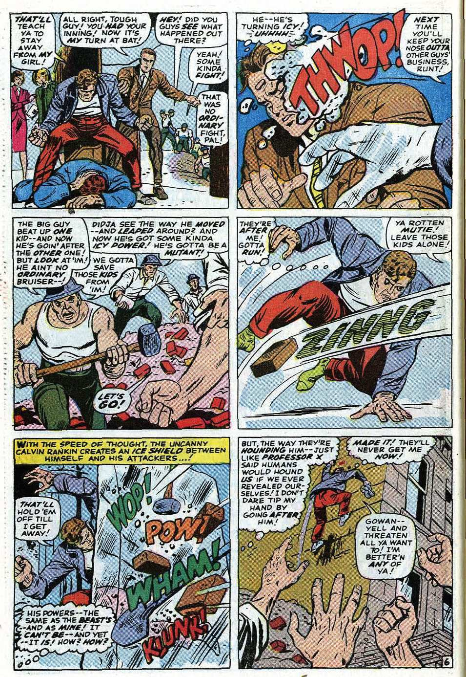 Read online Uncanny X-Men (1963) comic -  Issue #69 - 32