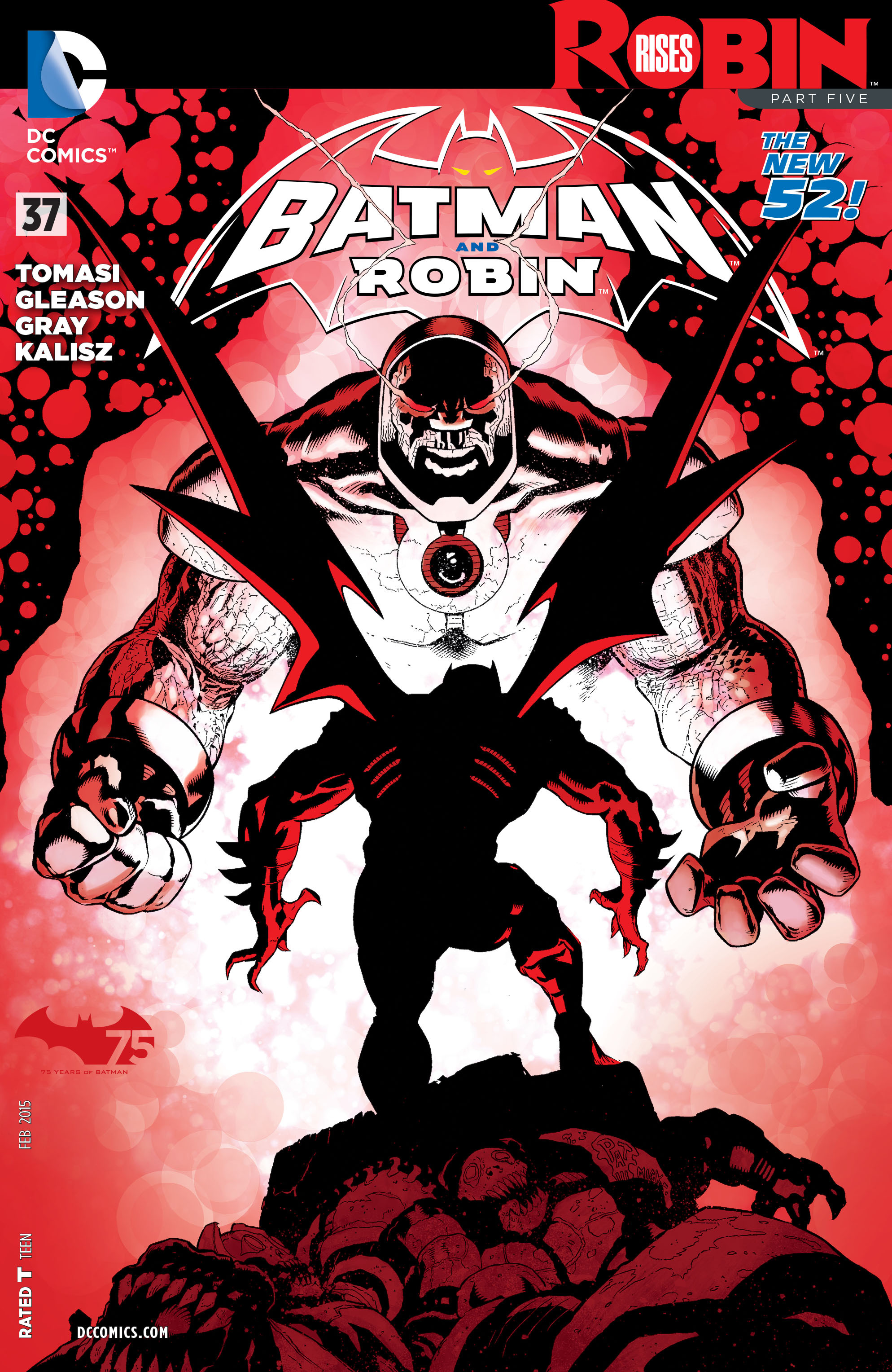 Read online Batman and Robin (2011) comic -  Issue #37 - 1