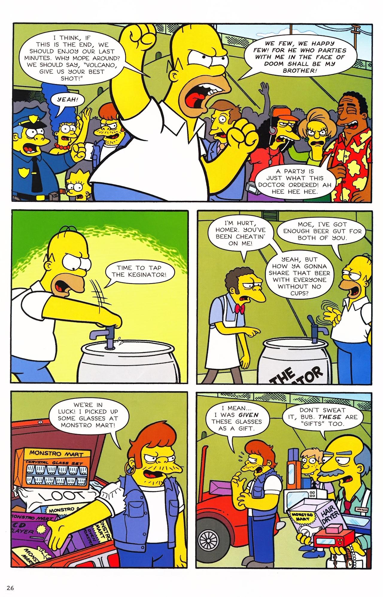 Read online Simpsons Comics comic -  Issue #152 - 21