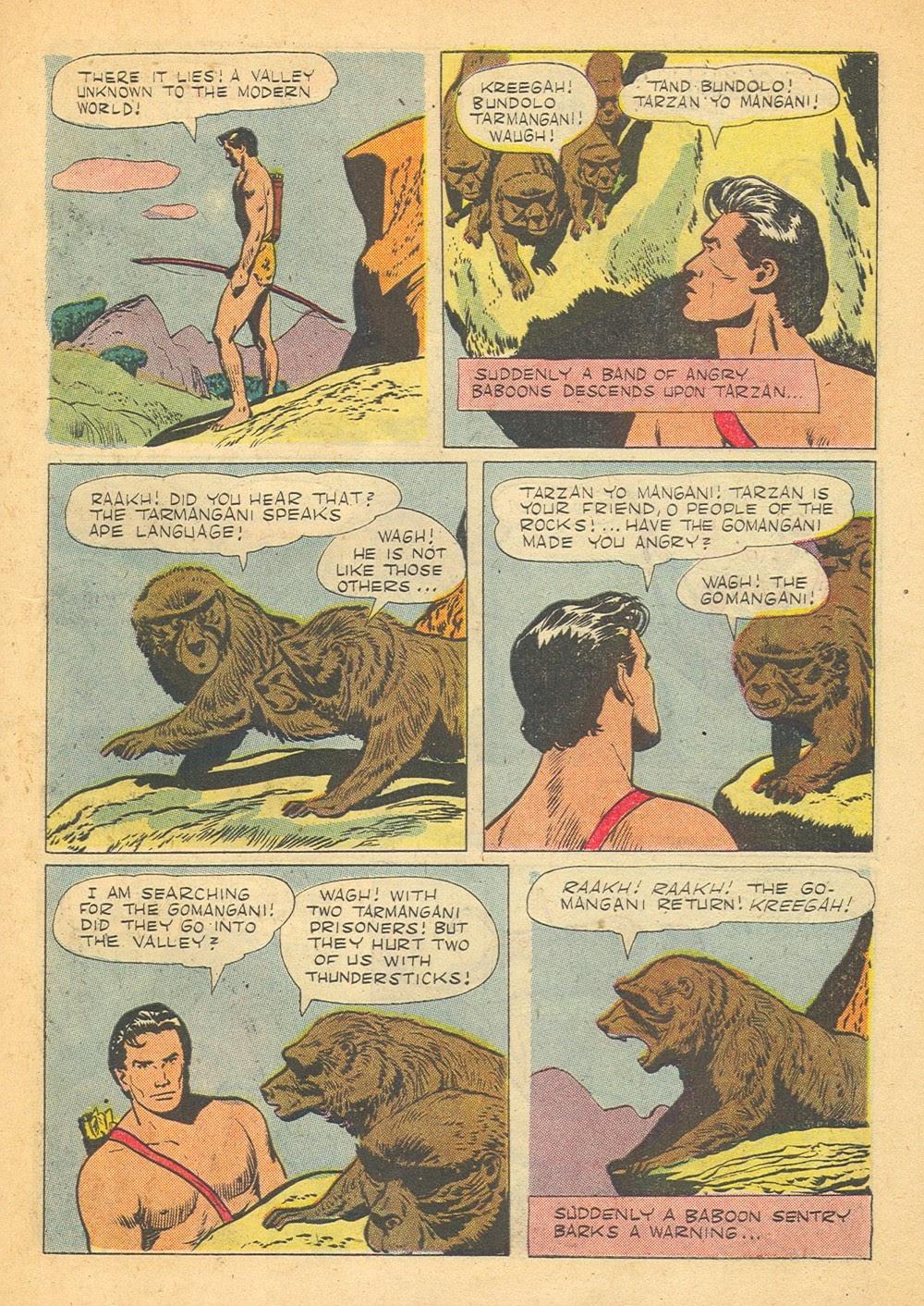 Tarzan (1948) issue 57 - Page 35