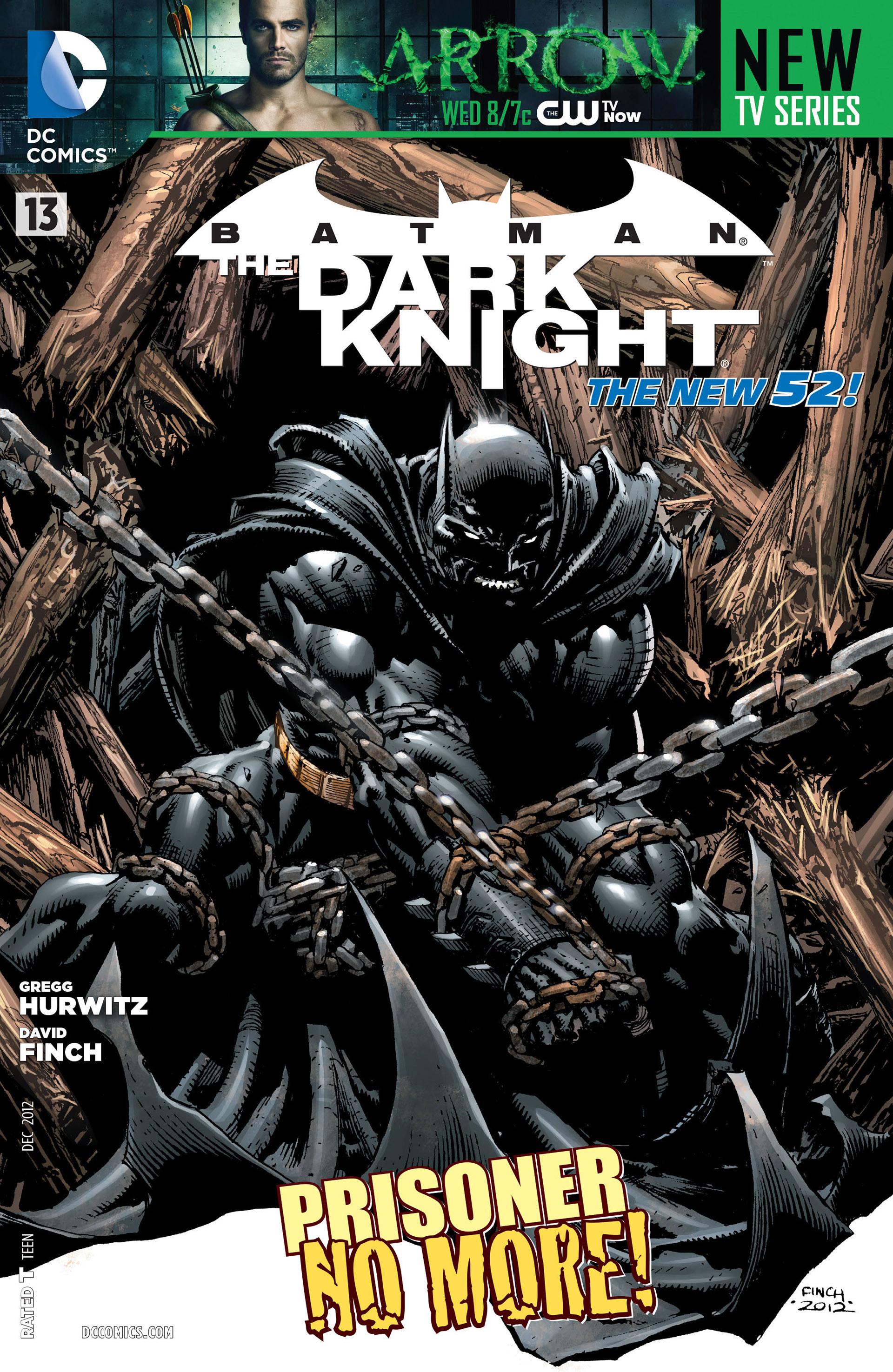 Batman: The Dark Knight [II] (2011) 13 Page 1