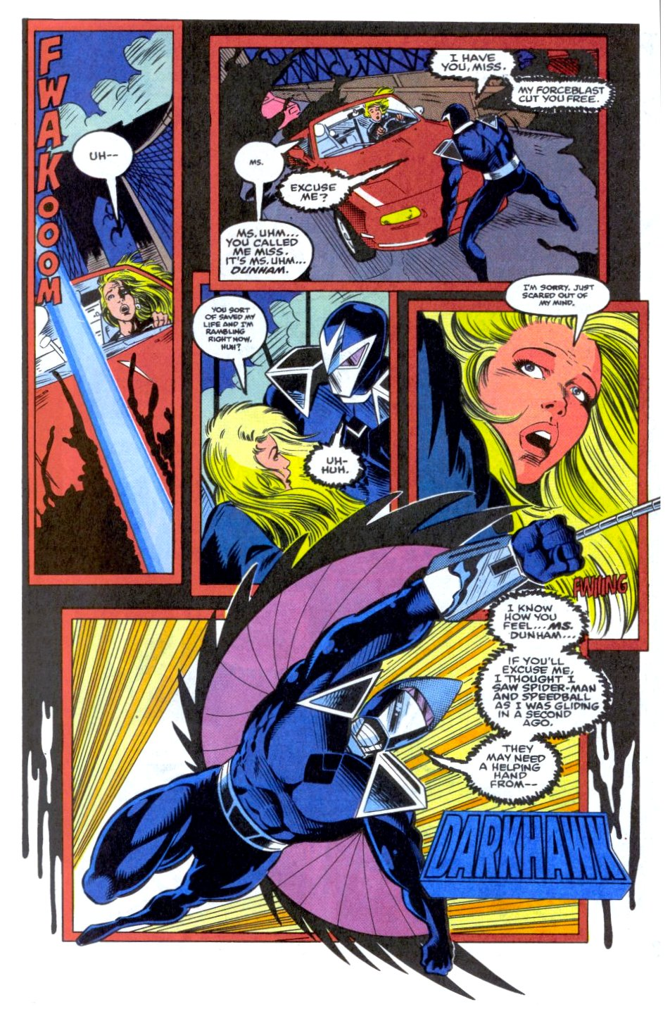 The New Warriors Issue #33 #37 - English 5