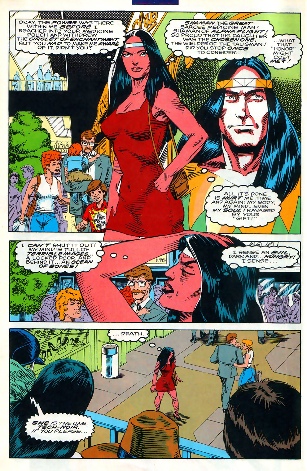 Read online Alpha Flight (1983) comic -  Issue #110 - 7