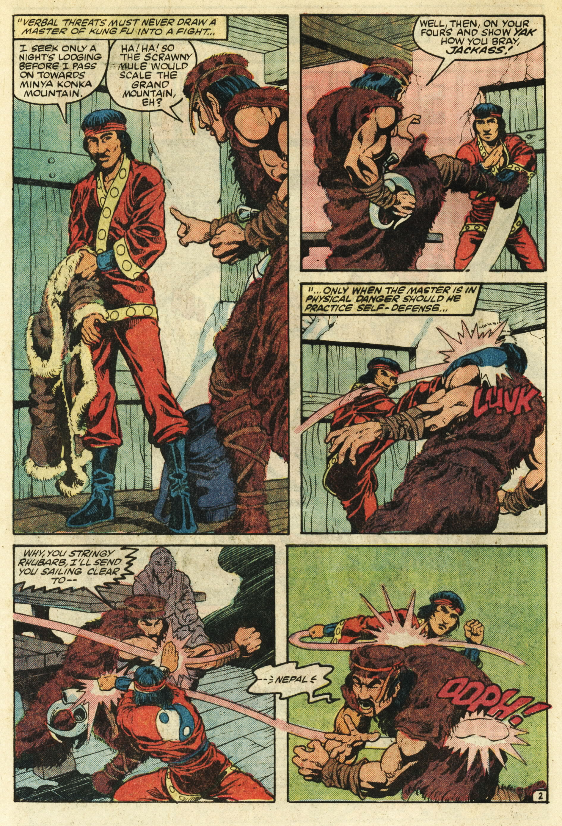 Read online Master of Kung Fu (1974) comic -  Issue #124 - 3