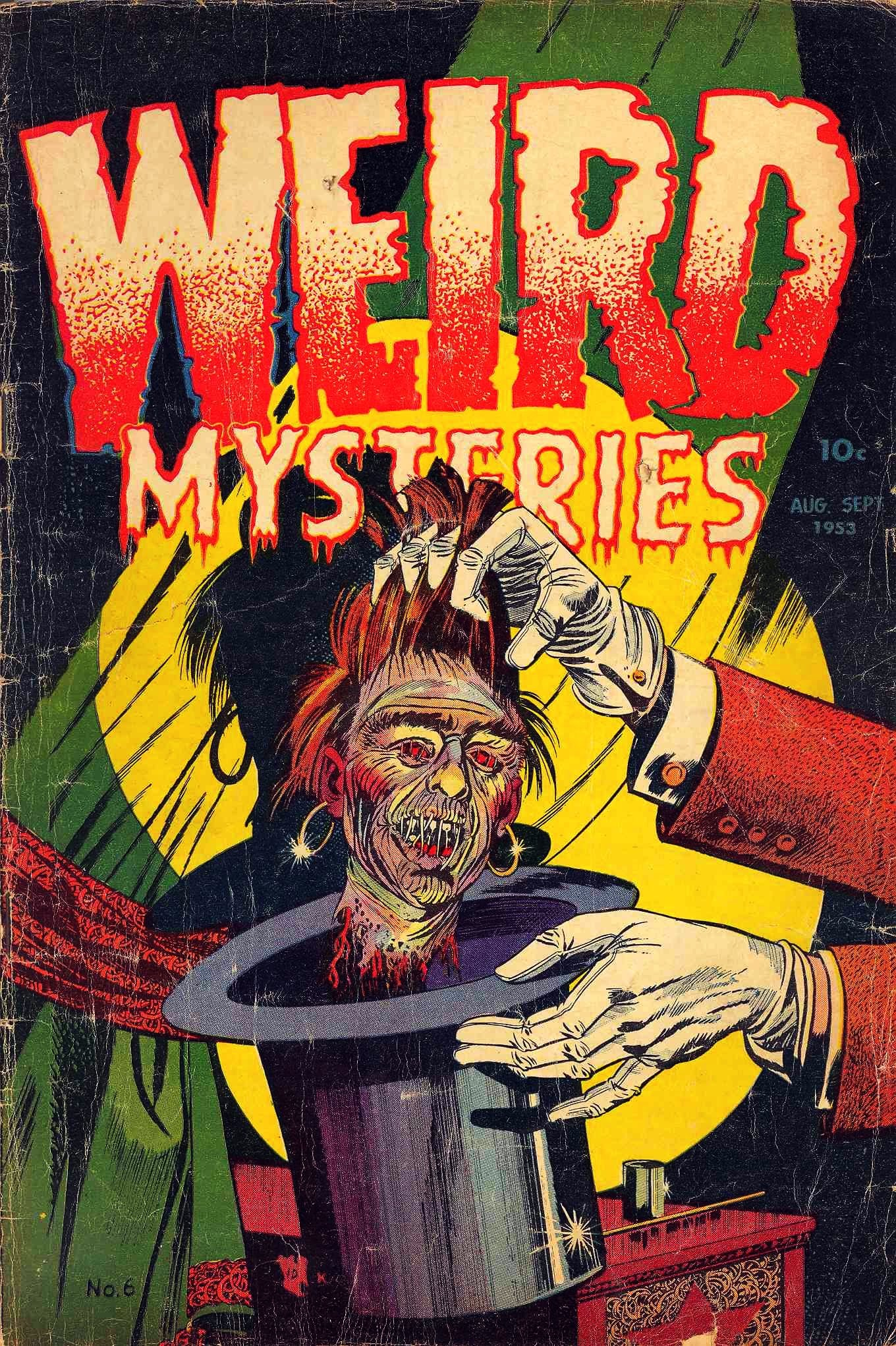 Weird Mysteries (1952) issue 6 - Page 1