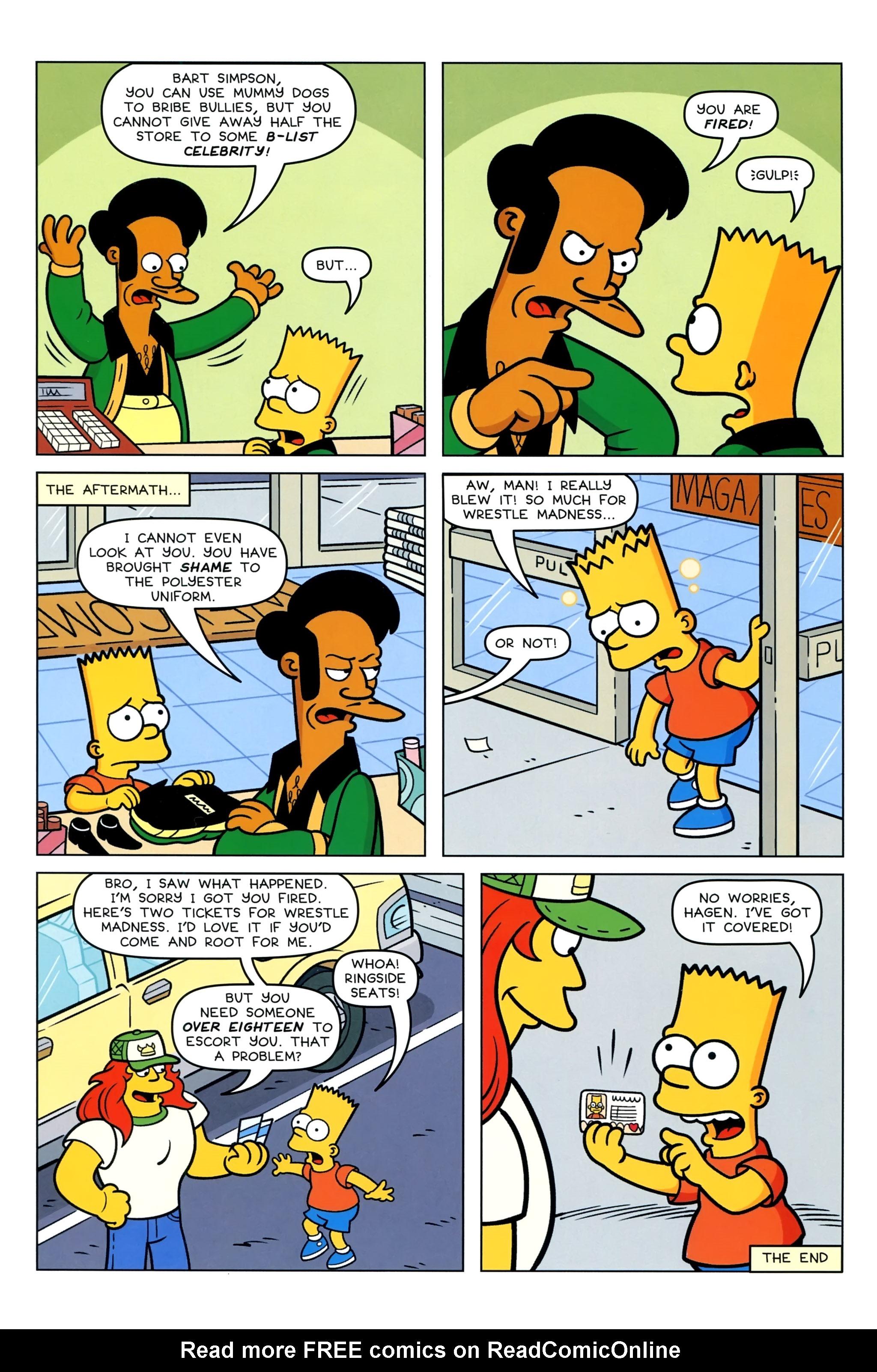 Read online Simpsons Comics Presents Bart Simpson comic -  Issue #95 - 14