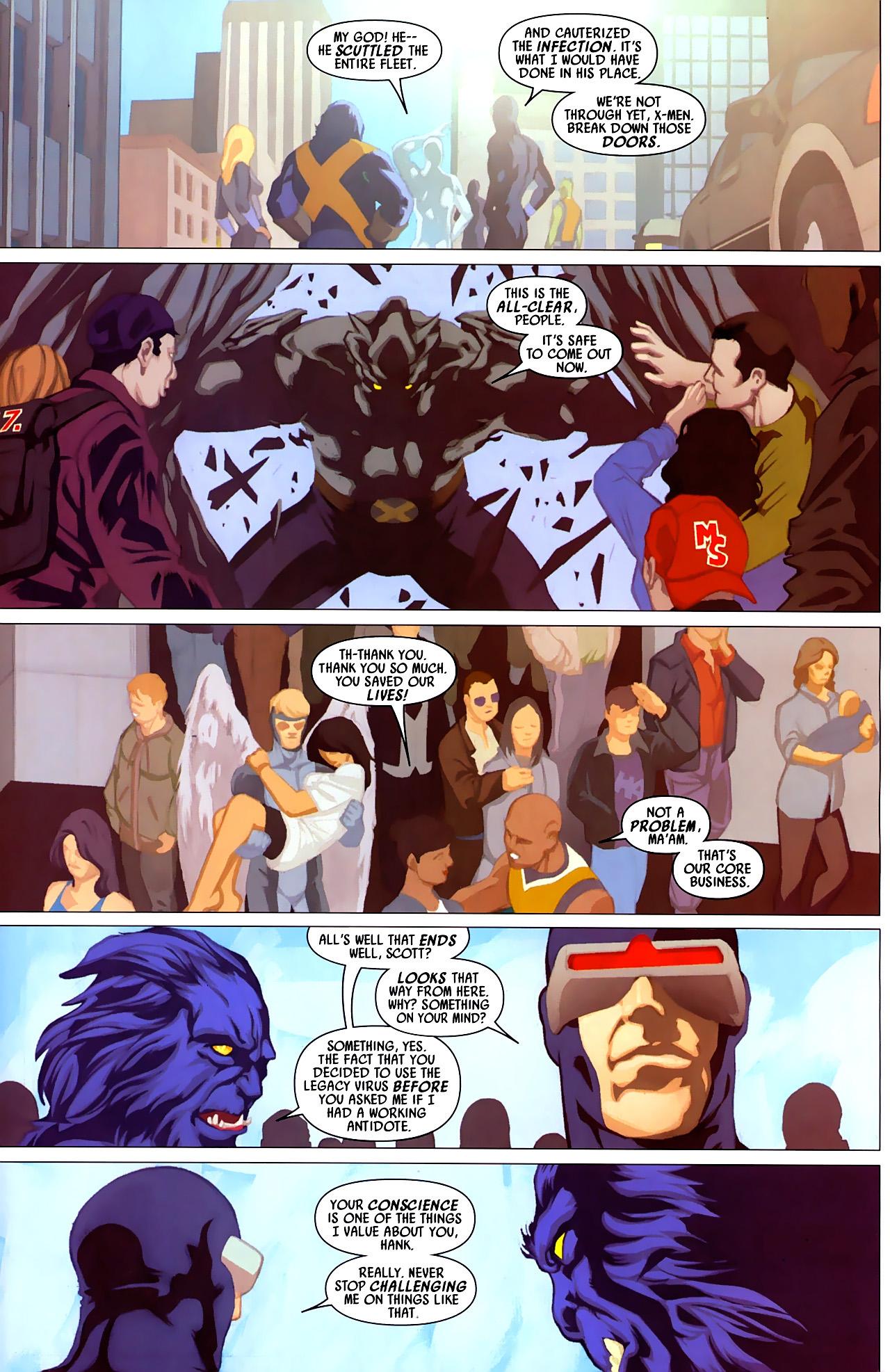 Read online Secret Invasion: X-Men comic -  Issue #4 - 24
