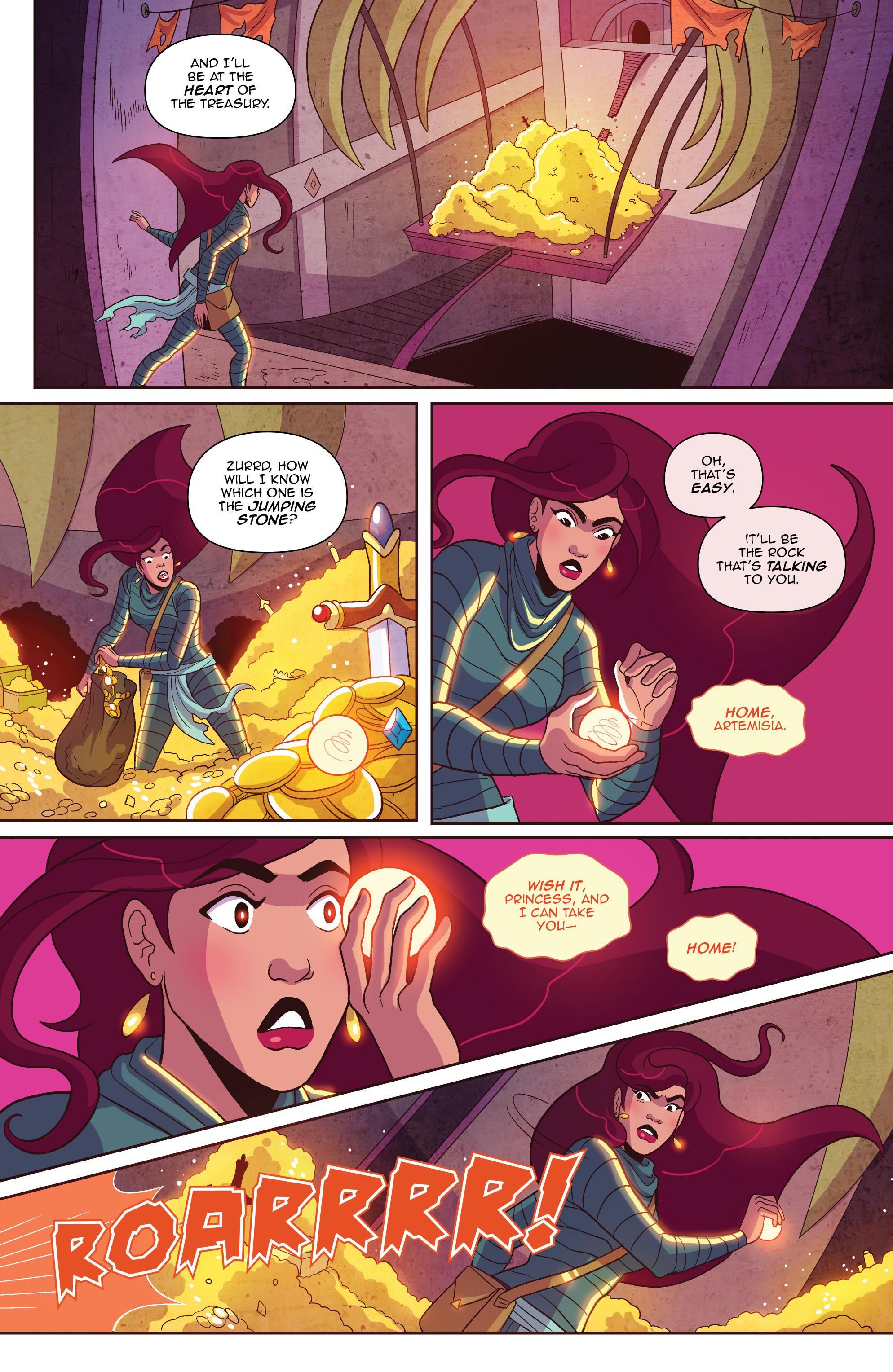 Read online Another Castle comic -  Issue #2 - 21