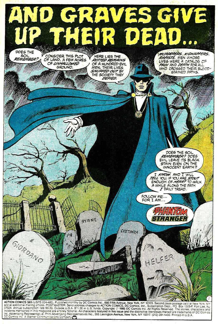 Action Comics (1938) 585 Page 1