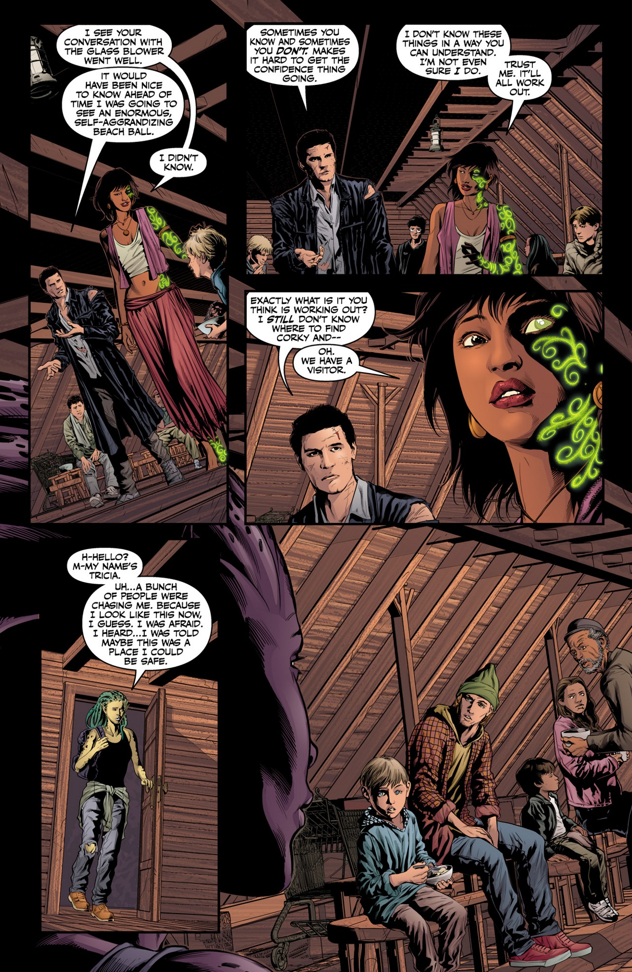 Read online Angel & Faith Season 10 comic -  Issue #3 - 18