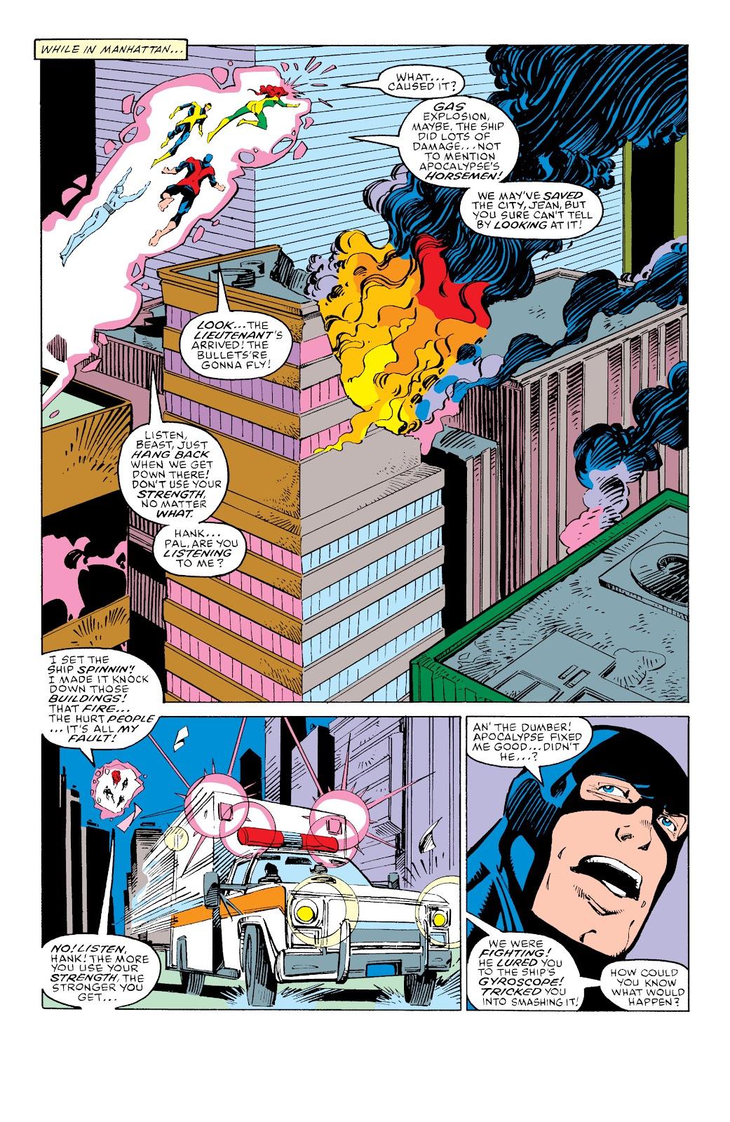 Read online X-Men Milestones: Fall of the Mutants comic -  Issue # TPB (Part 3) - 50